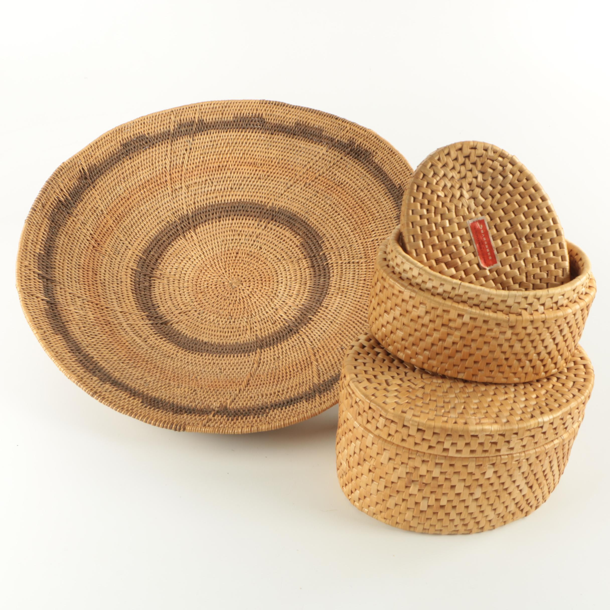 Chinese Woven Baskets