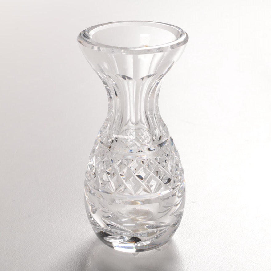 Waterford Crystal Glandore Bud Vase Ebth