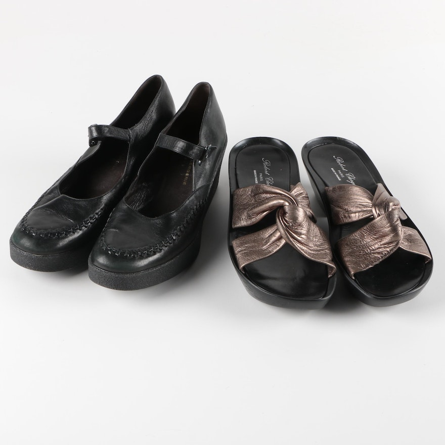 Two Pair of Robert Clergerie of Paris Shoes   EBTH aaa1e9547