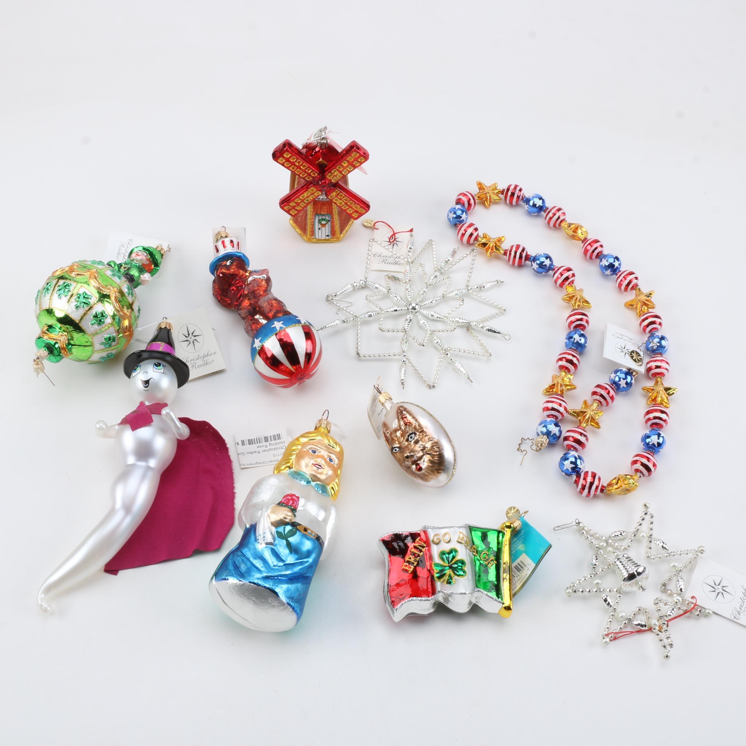 Christopher Radko Holiday Ornaments