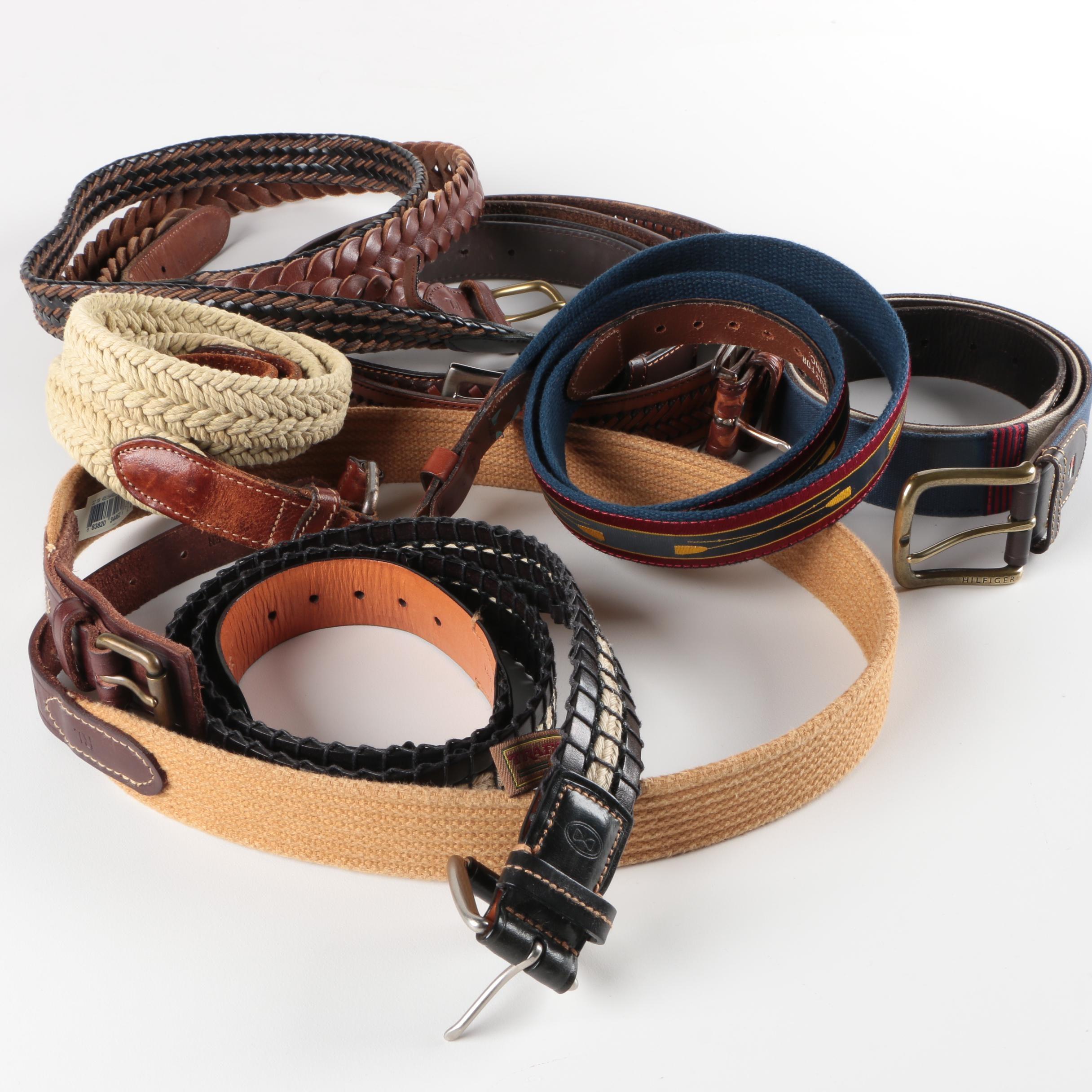 Woven Belts Including Ralph Lauren