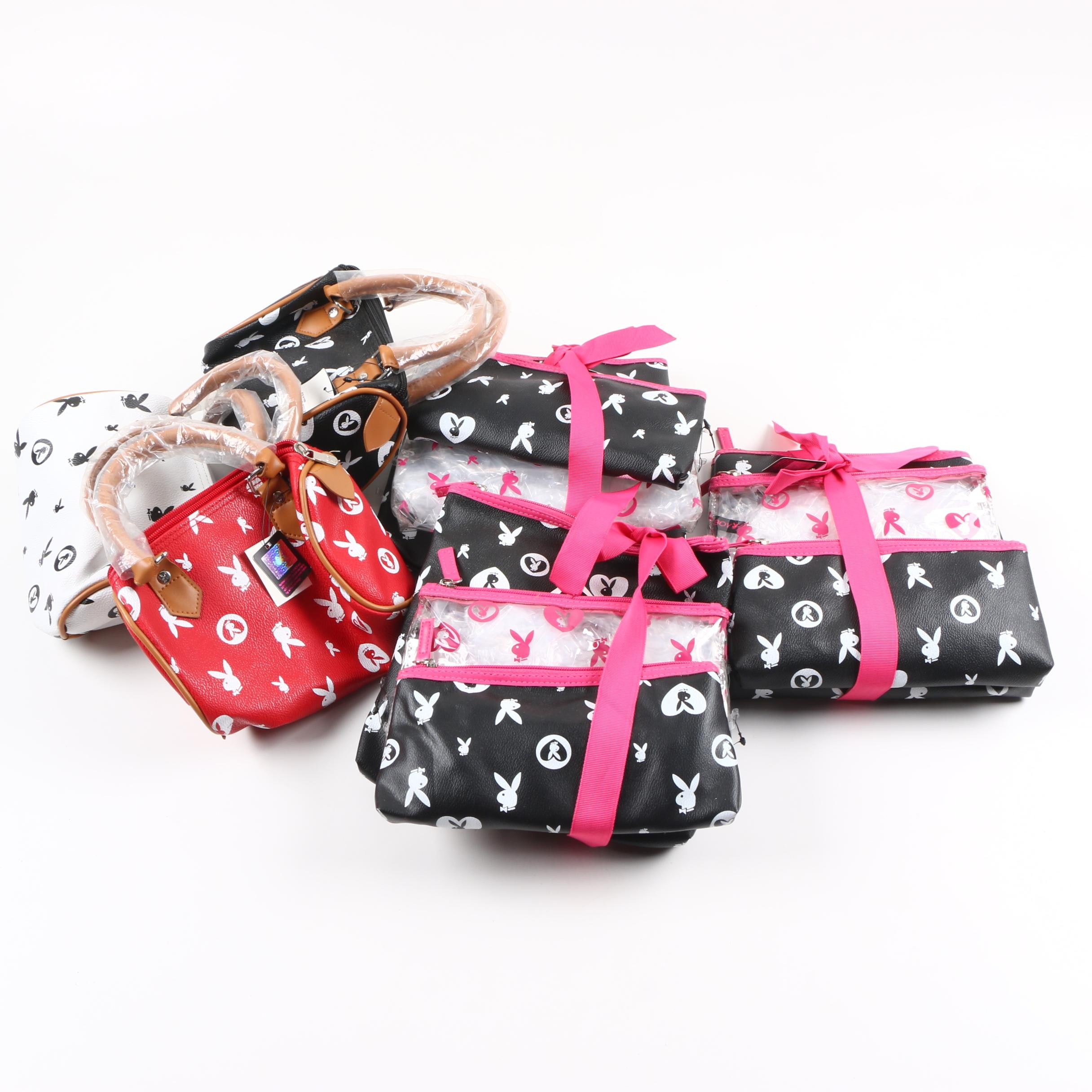 Playboy Bunny Handbags and Accessories Sets