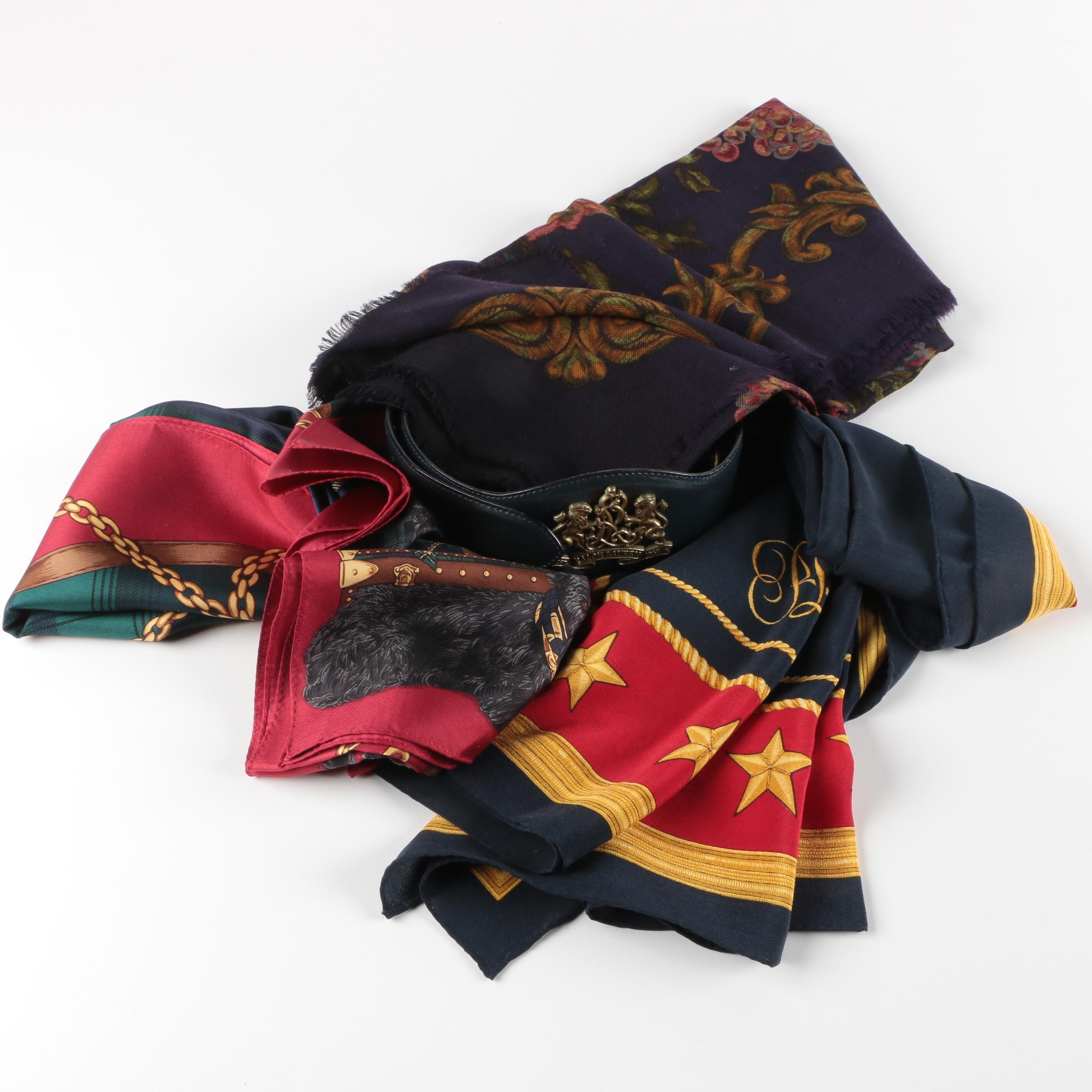 Ralph Lauren Scarves and Leather Belt