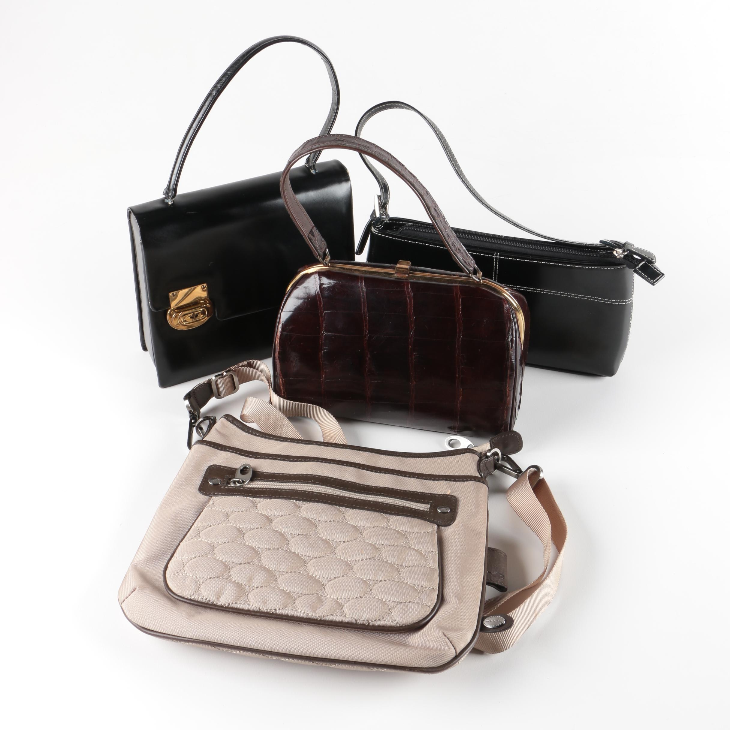 Handbag Assortment Including Mosey