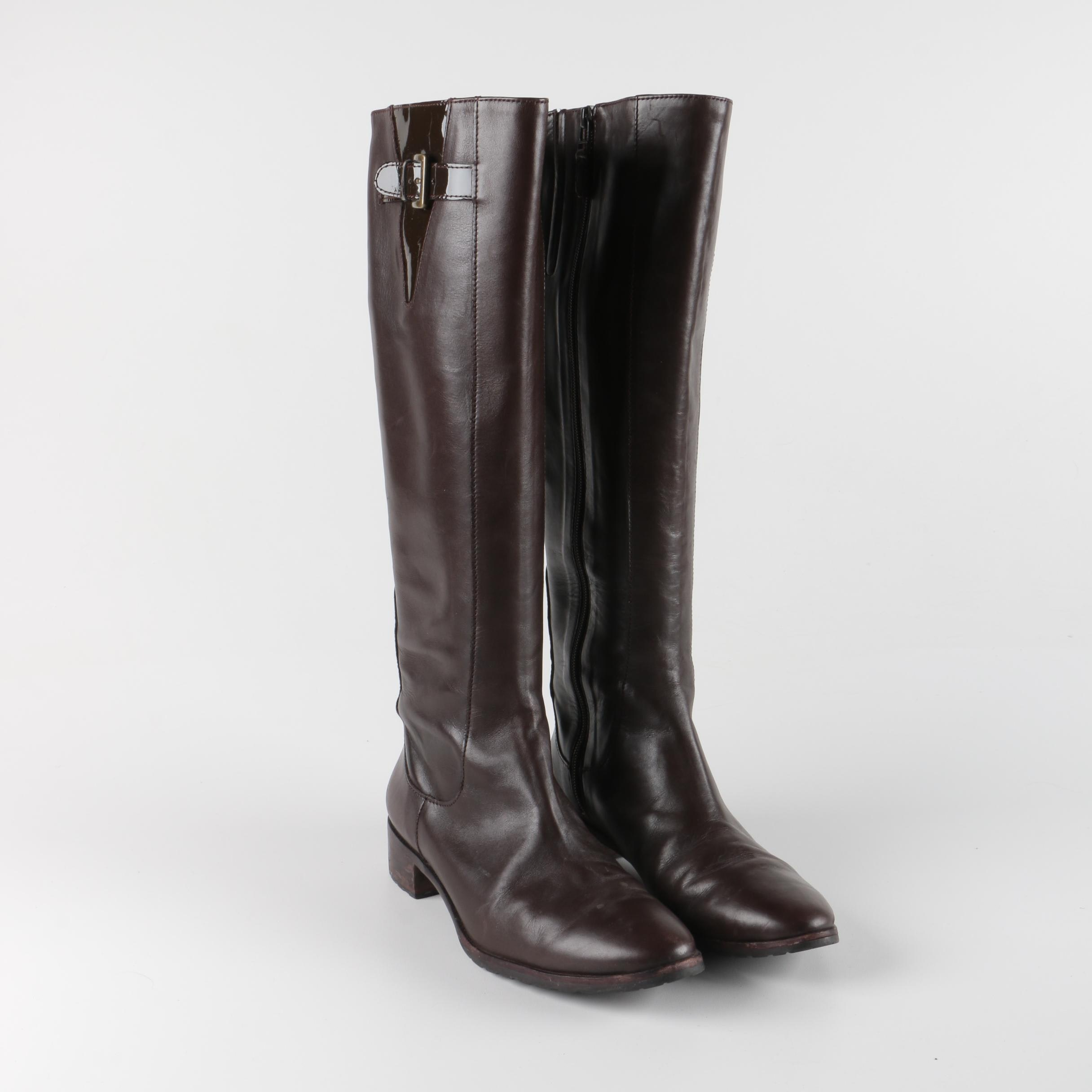 Women's Cole Haan Brown Leather Boots