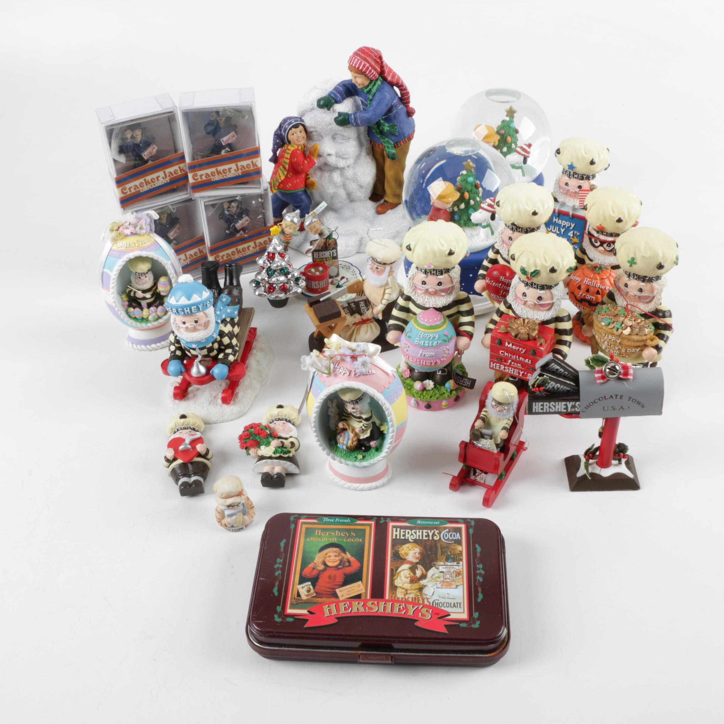 Holiday Decor Featuring Hershey's Collectibles