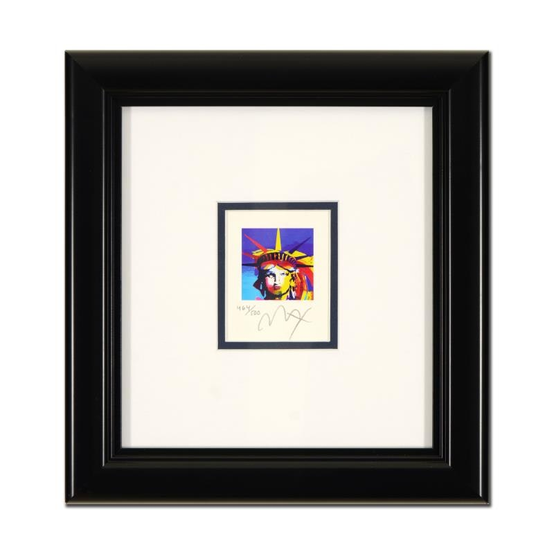 """""""Liberty Head"""" Limited Edition by Peter Max"""