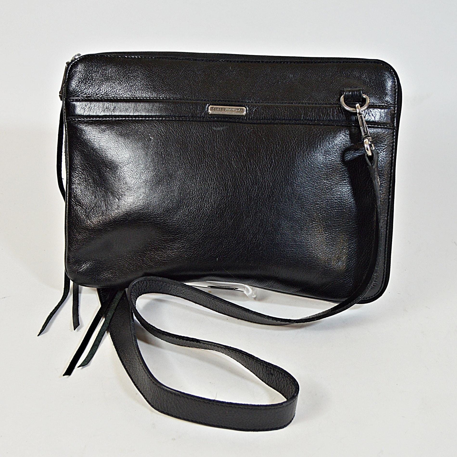 Rebecca Minkoff Black Leather Handbag