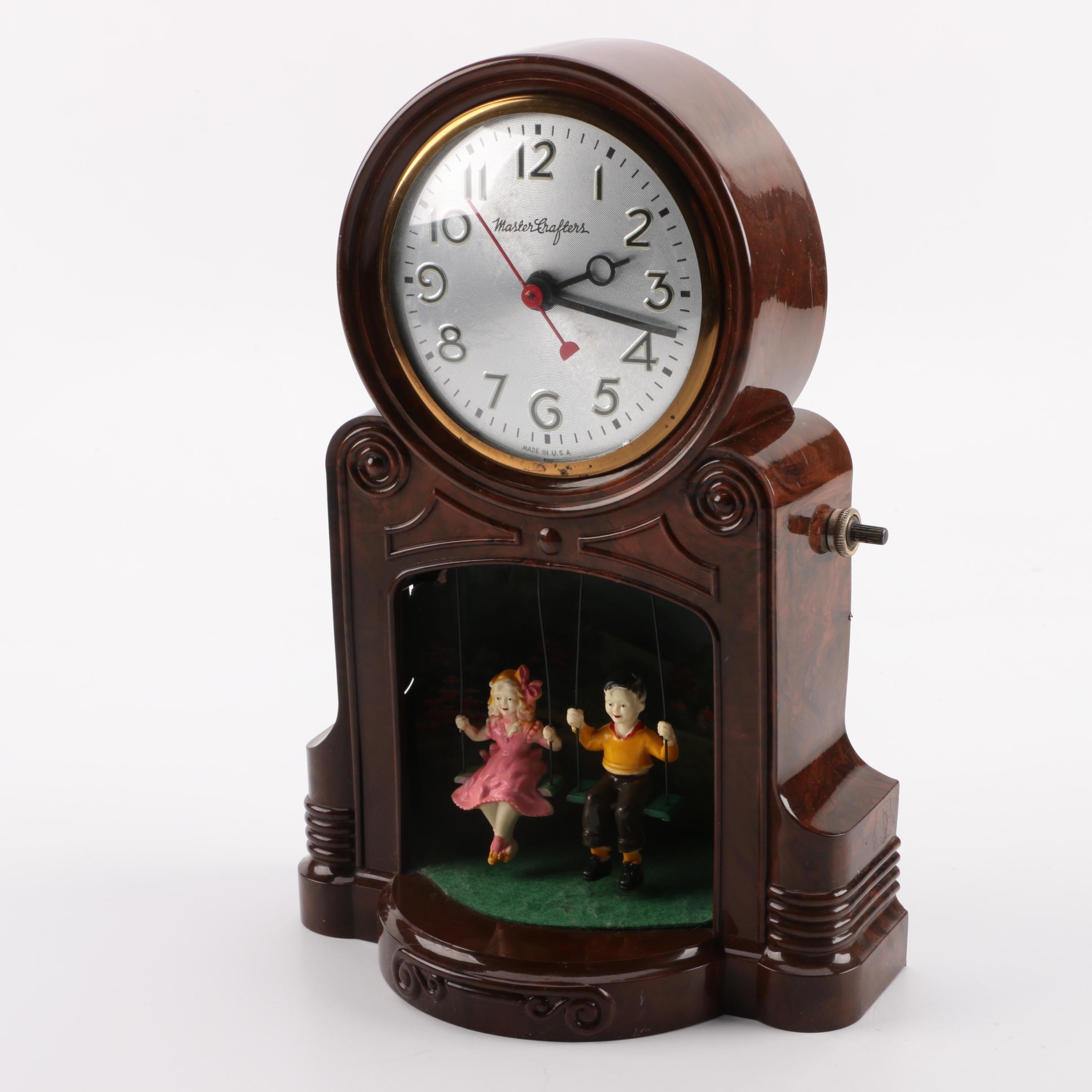 MasterCrafters Illuminated Swing Electric Clock