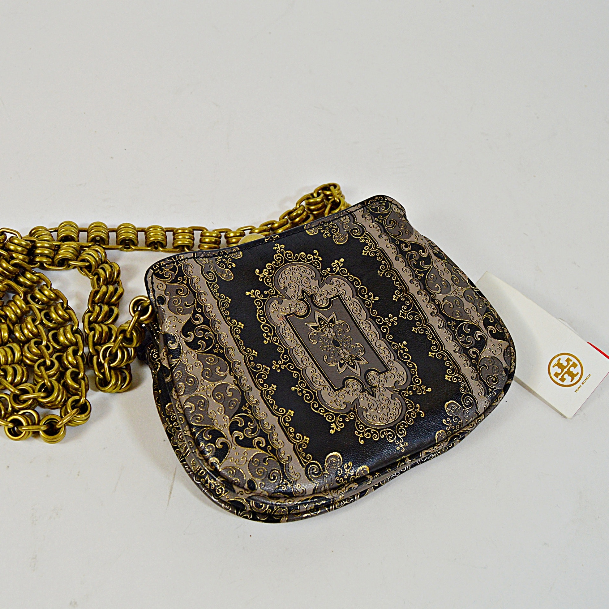 Tory Burch Tapestry Shoulder Bag, New-with-Tags