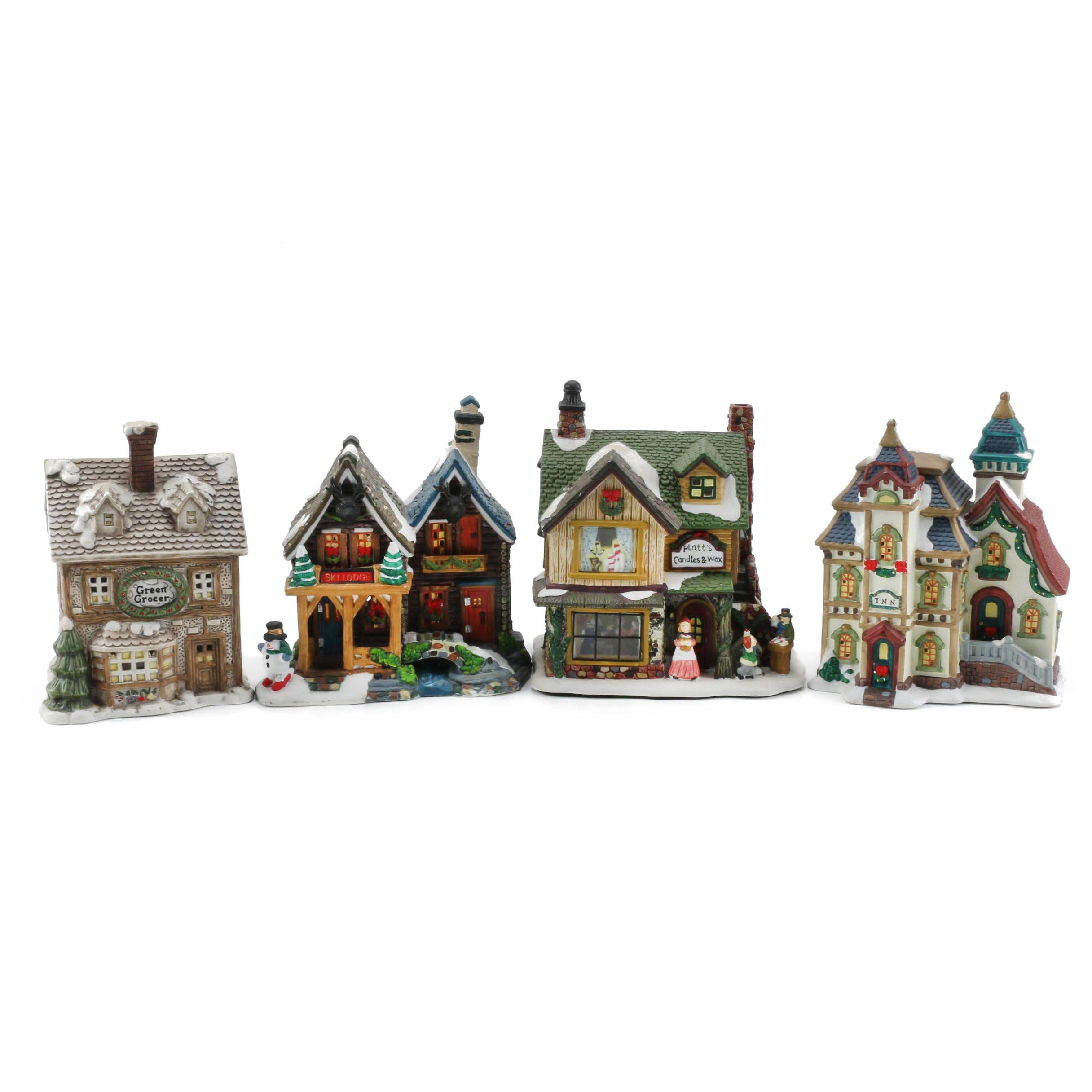 Holiday Village Decorations