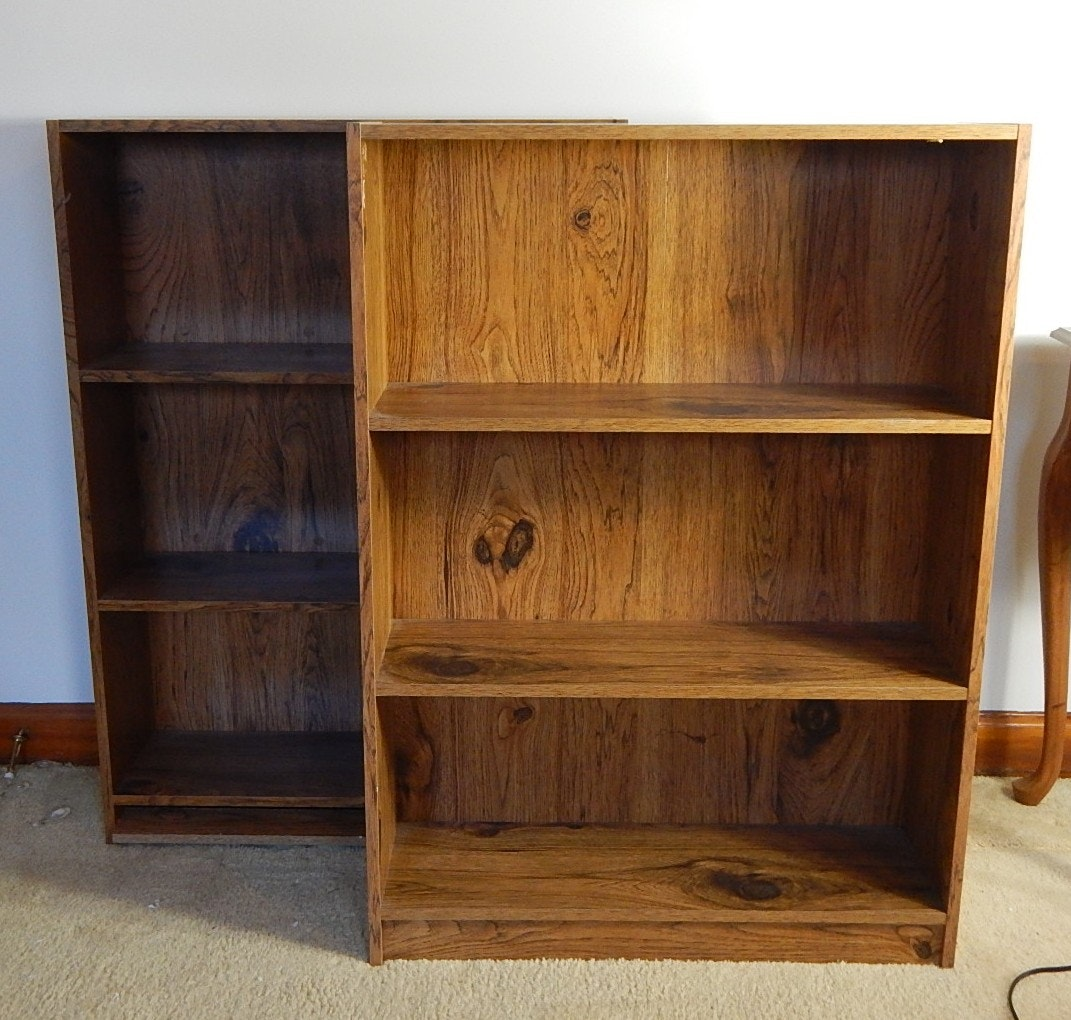Composite Wood Sofa Table and Laminate Bookcases