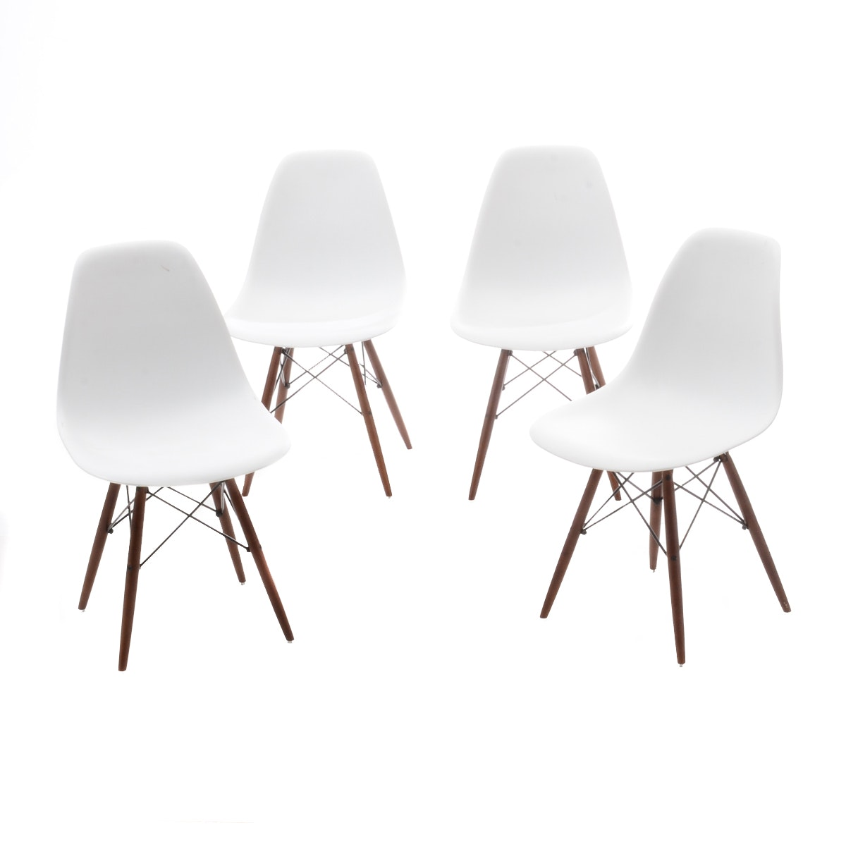 Contemporary Modern Eames Style Side Chairs