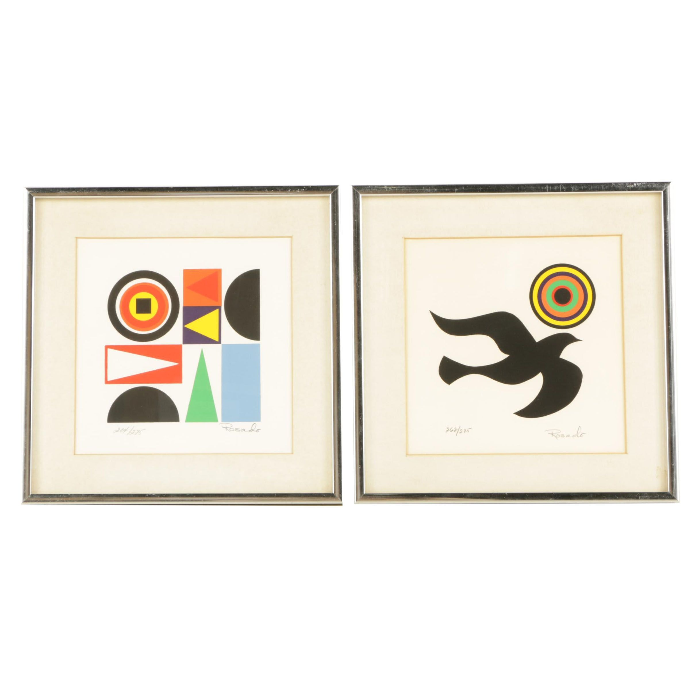 Victor Rosado Limited Edition Serigraphs