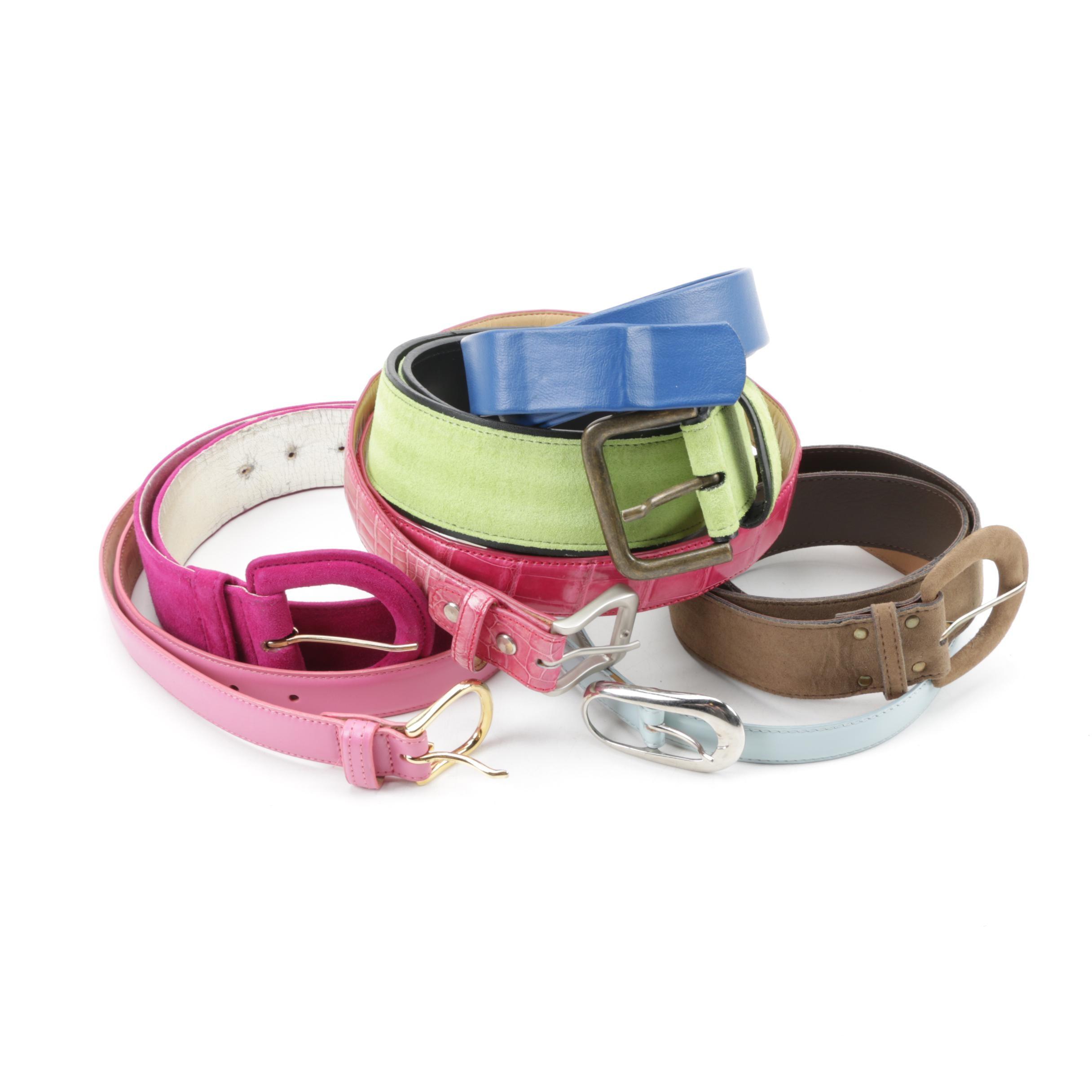 Women's Fashion Belts Including Carlisle