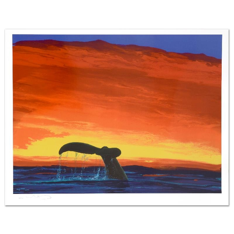 """""""Sounding Seas"""" Limited Edition Lithograph"""