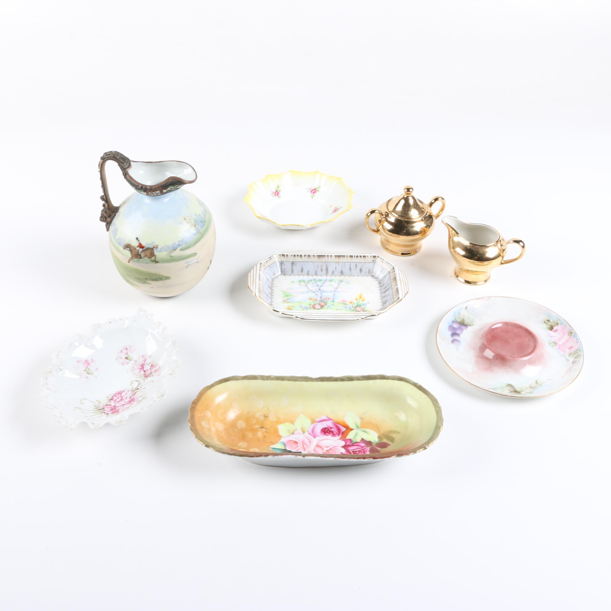 Vintage Tableware Including Royal Stafford and Royal Albert