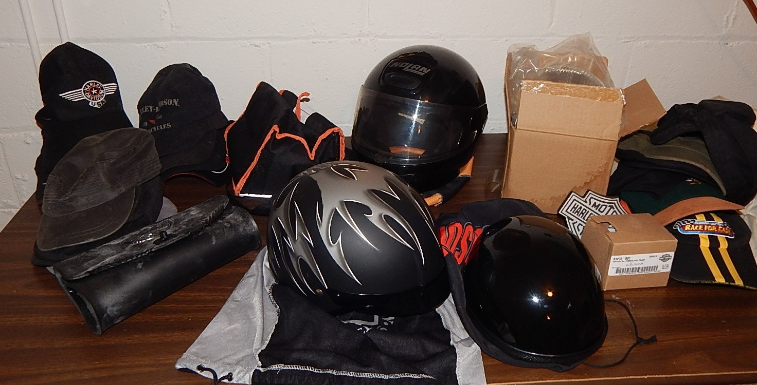 Motorcycle Riding Accessories Including Harley-Davidson