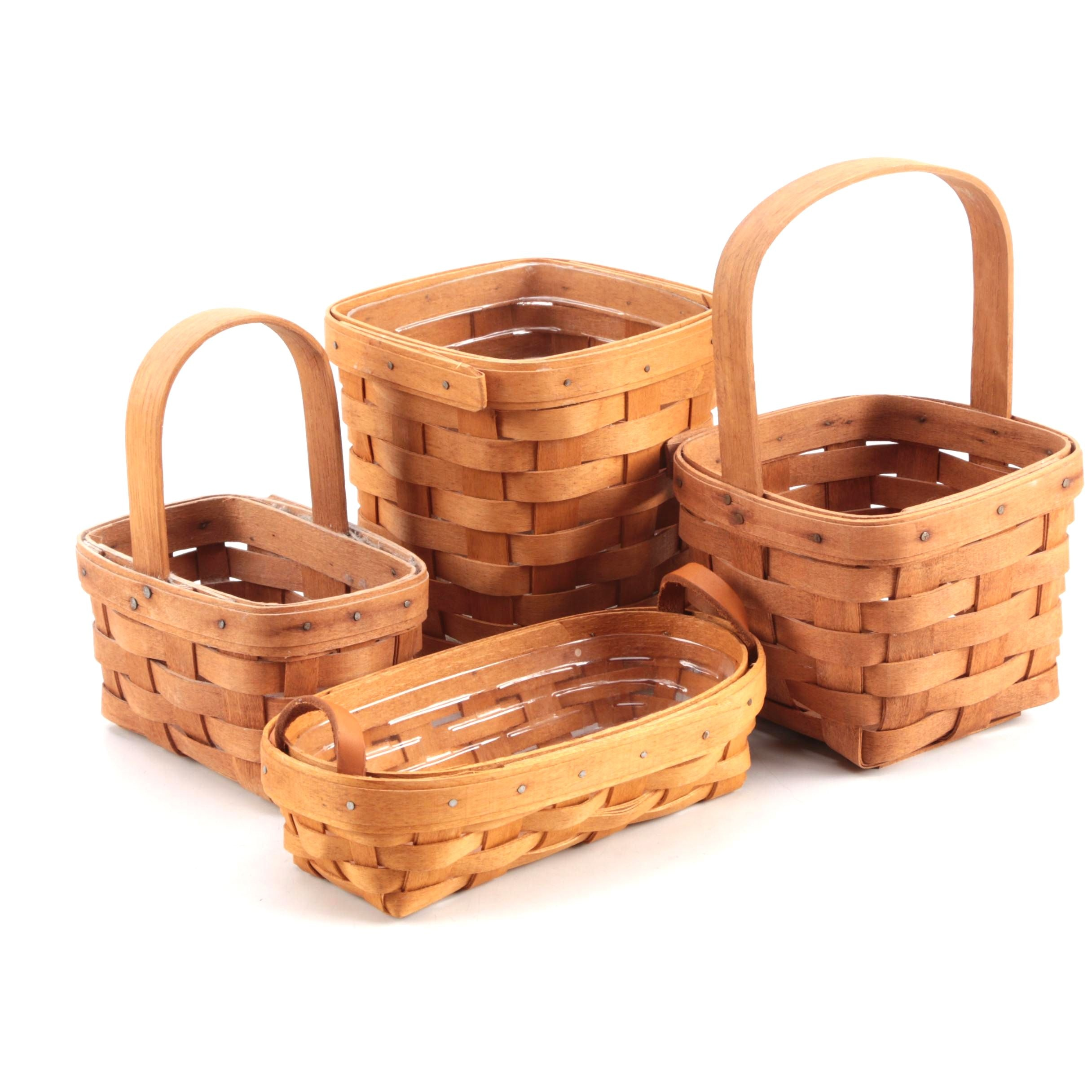 Selection of Longaberger Baskets