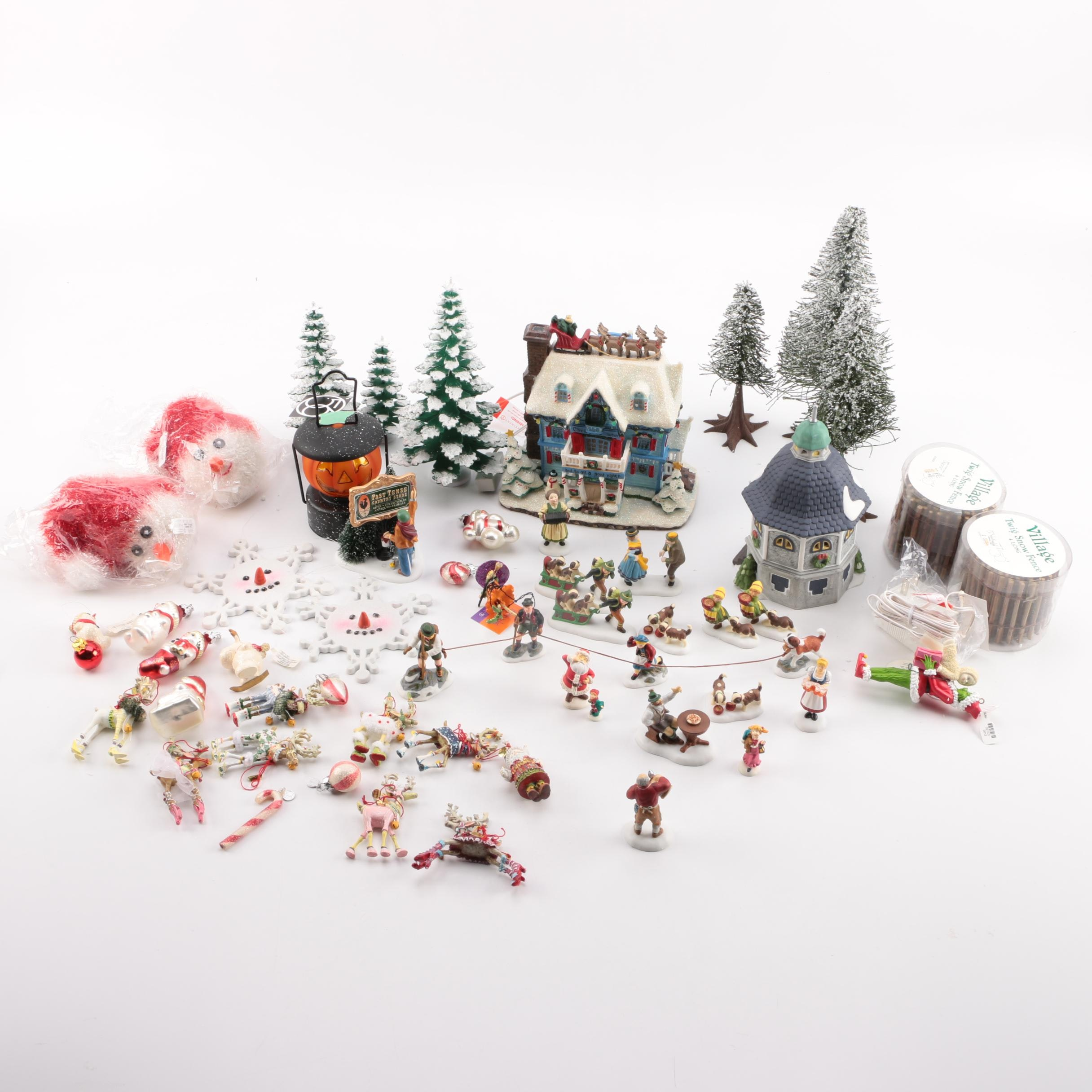 Dept. 56 Christmas Village and Other Christmas Decor