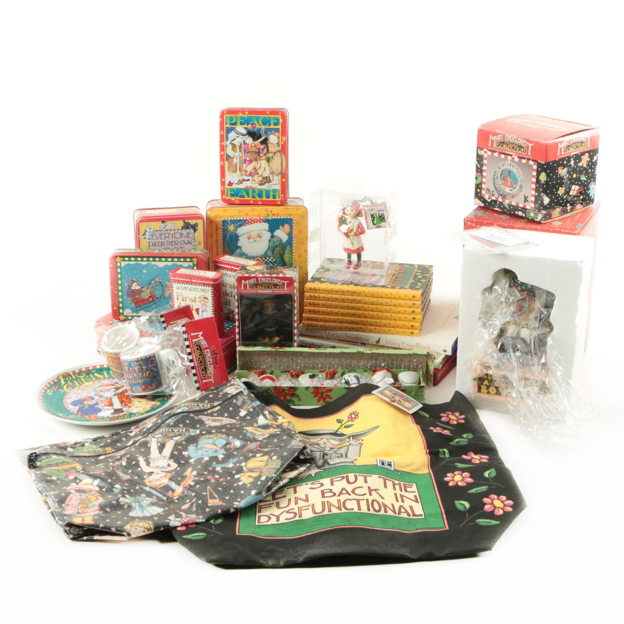 Holiday Themed Tins and More by Mary Engelbreit