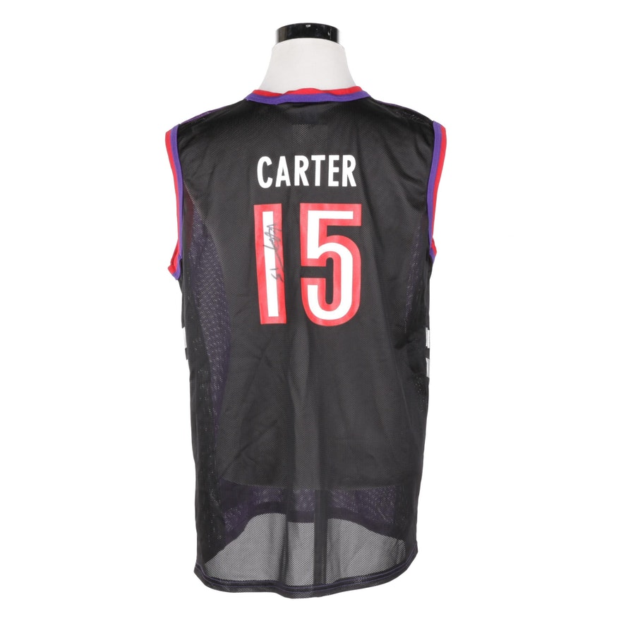 d6b8ea8851b Vince Carter Autographed Raptors Jersey : EBTH