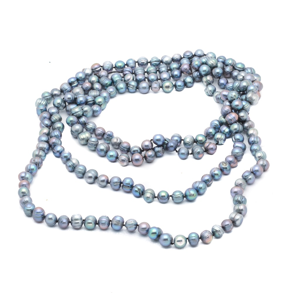 Dyed Cultured Freshwater Pearl Necklace