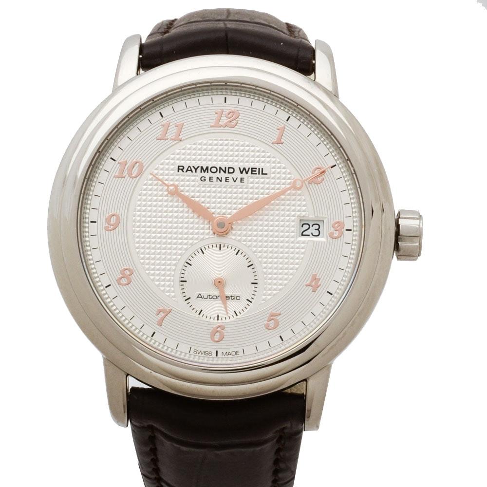 Raymond Weil Geneve Maestro Stainless Steel Automatic Wristwatch