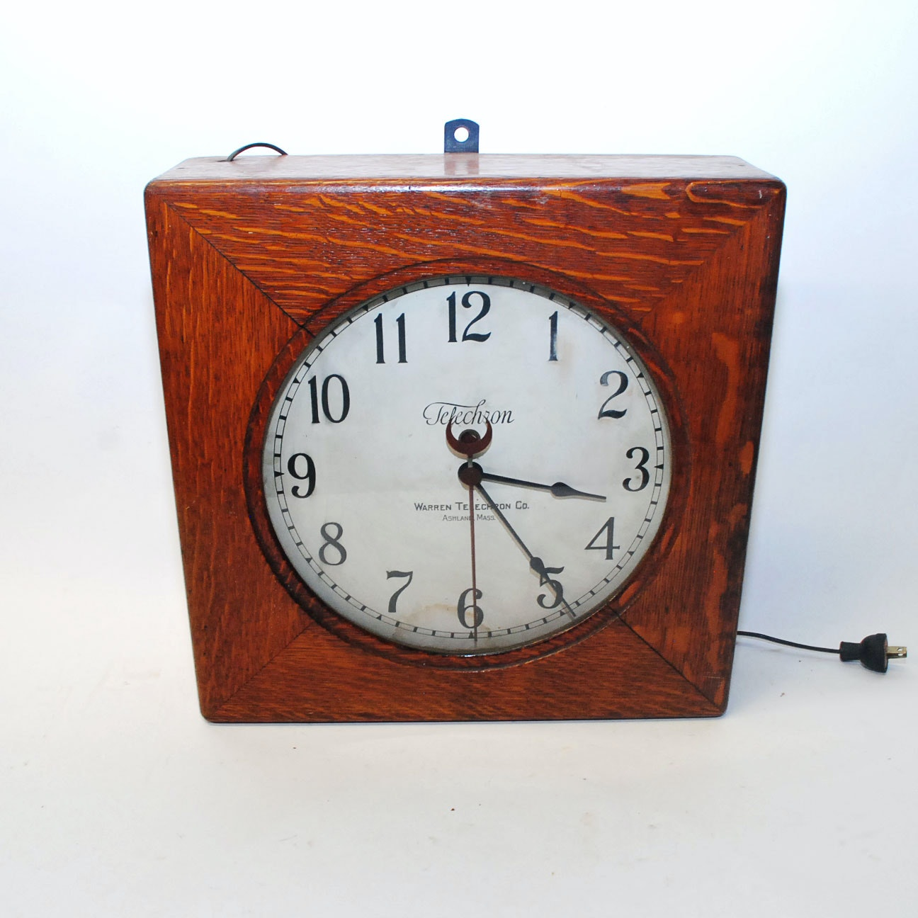Warren Telecron Clock