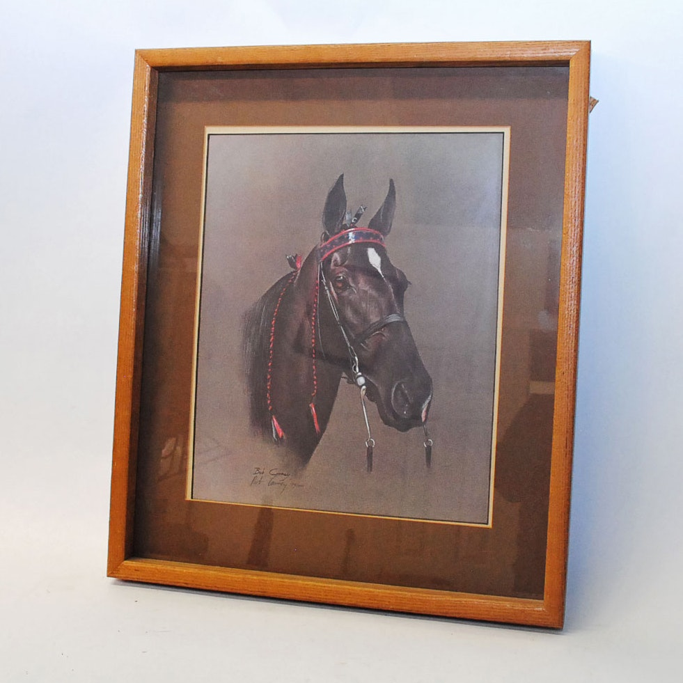 "Bob Carney Limited Edition Offset Lithograph ""Tennessee Walker"""