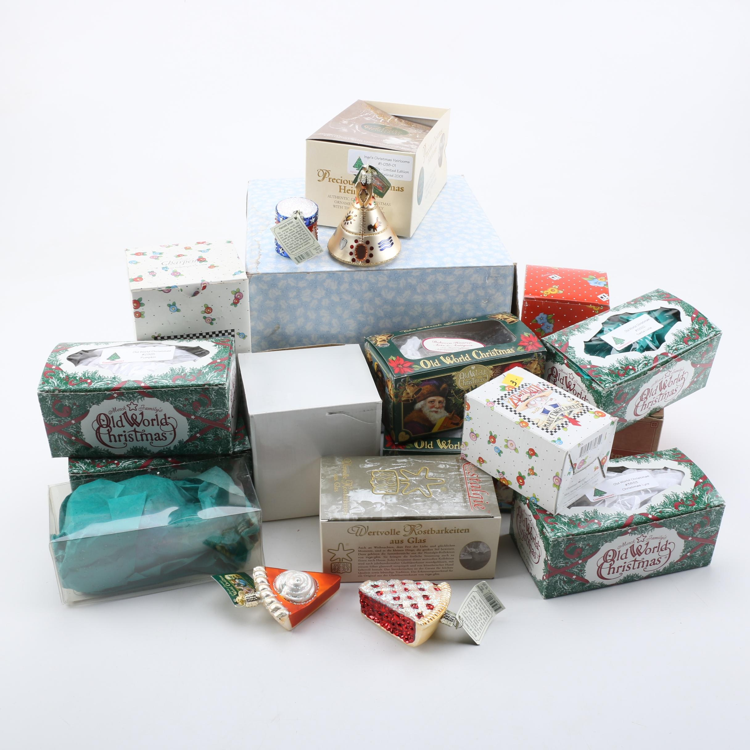 Assorted Christmas Ornaments and Decor