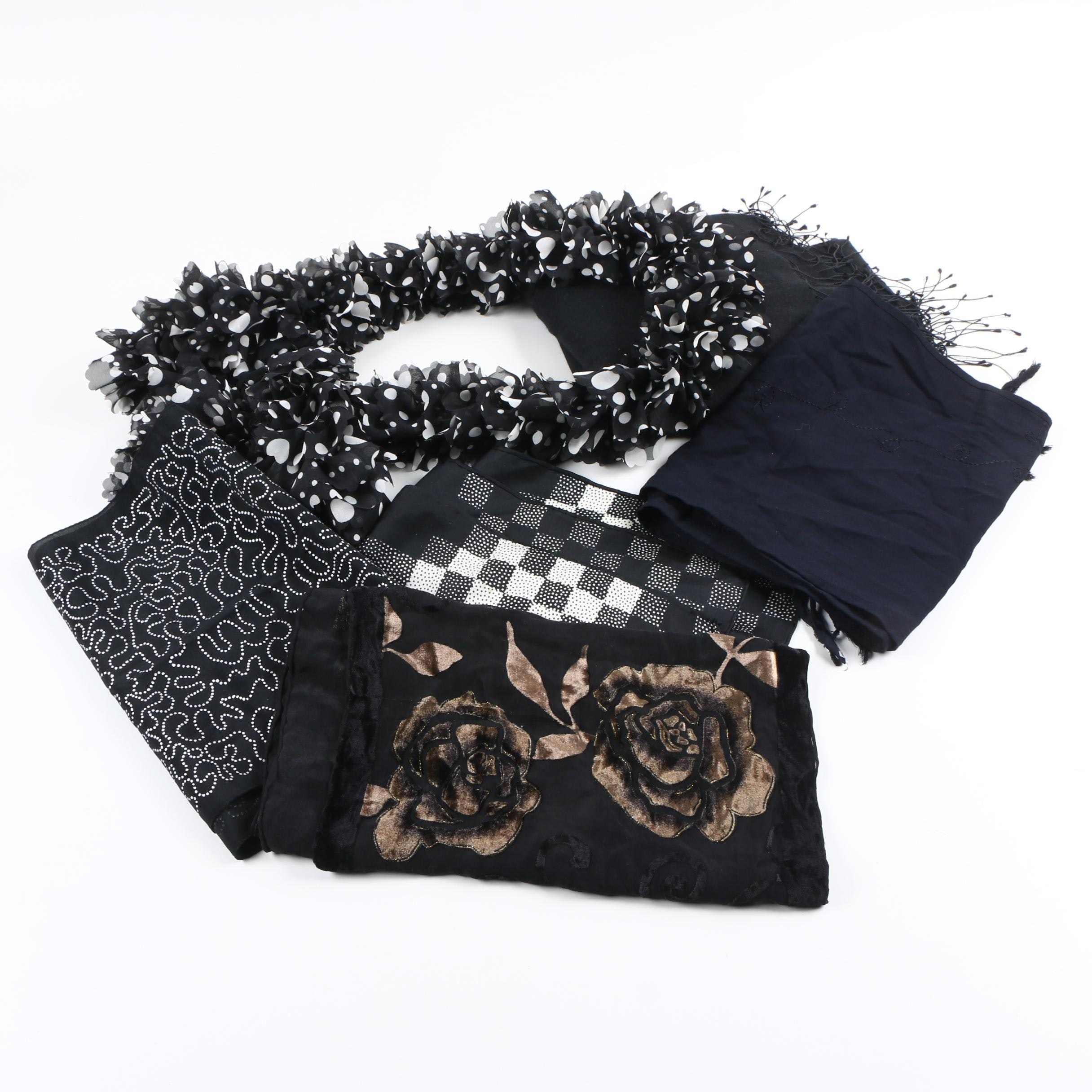 Women's Scarf Collection Including Ann Klein