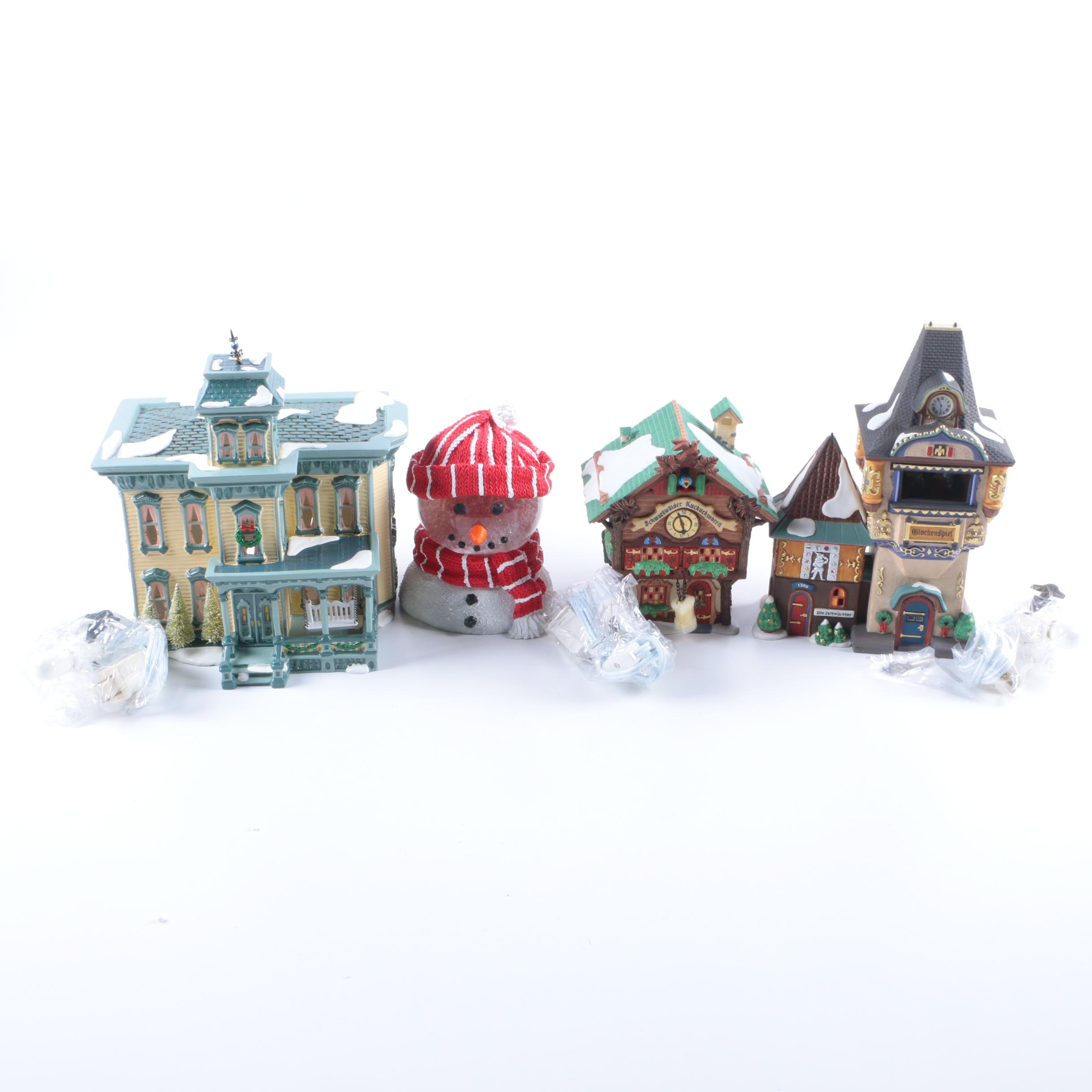 Department 56 Alpine and Snow  Village Christmas Decor