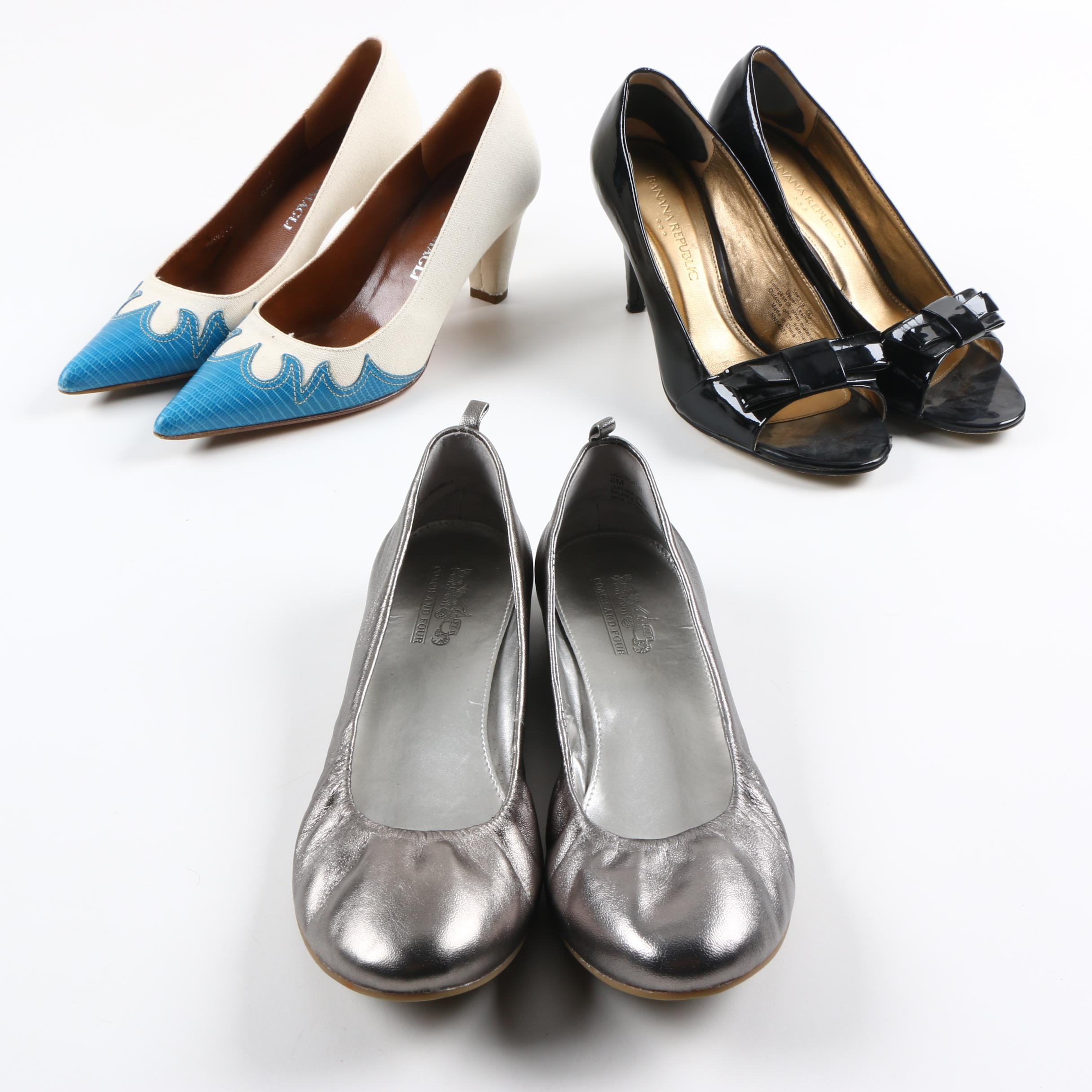 Women's Heels and Flats Including Bruno Magli