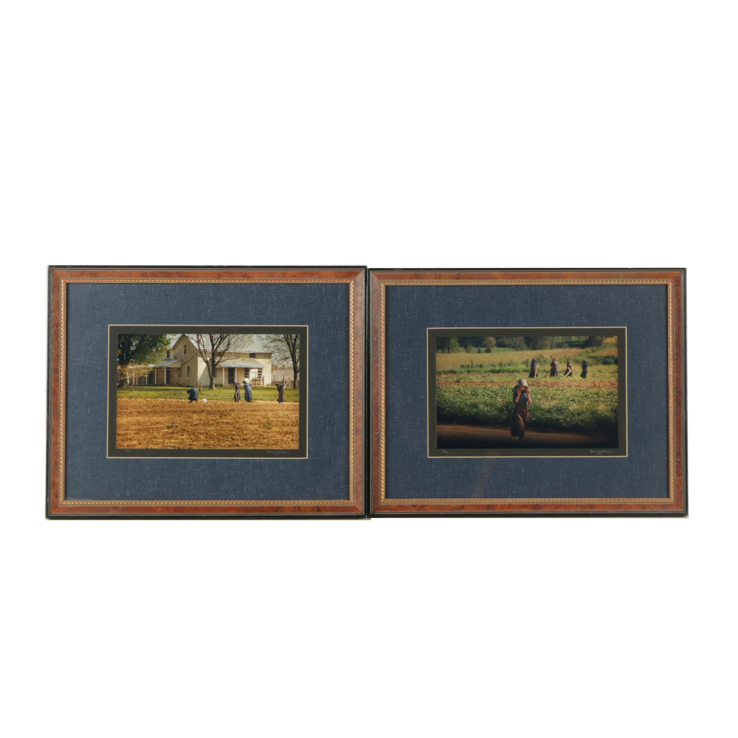 Barry Jackson Limited Edition Digital Color Photographs of an Amish Community