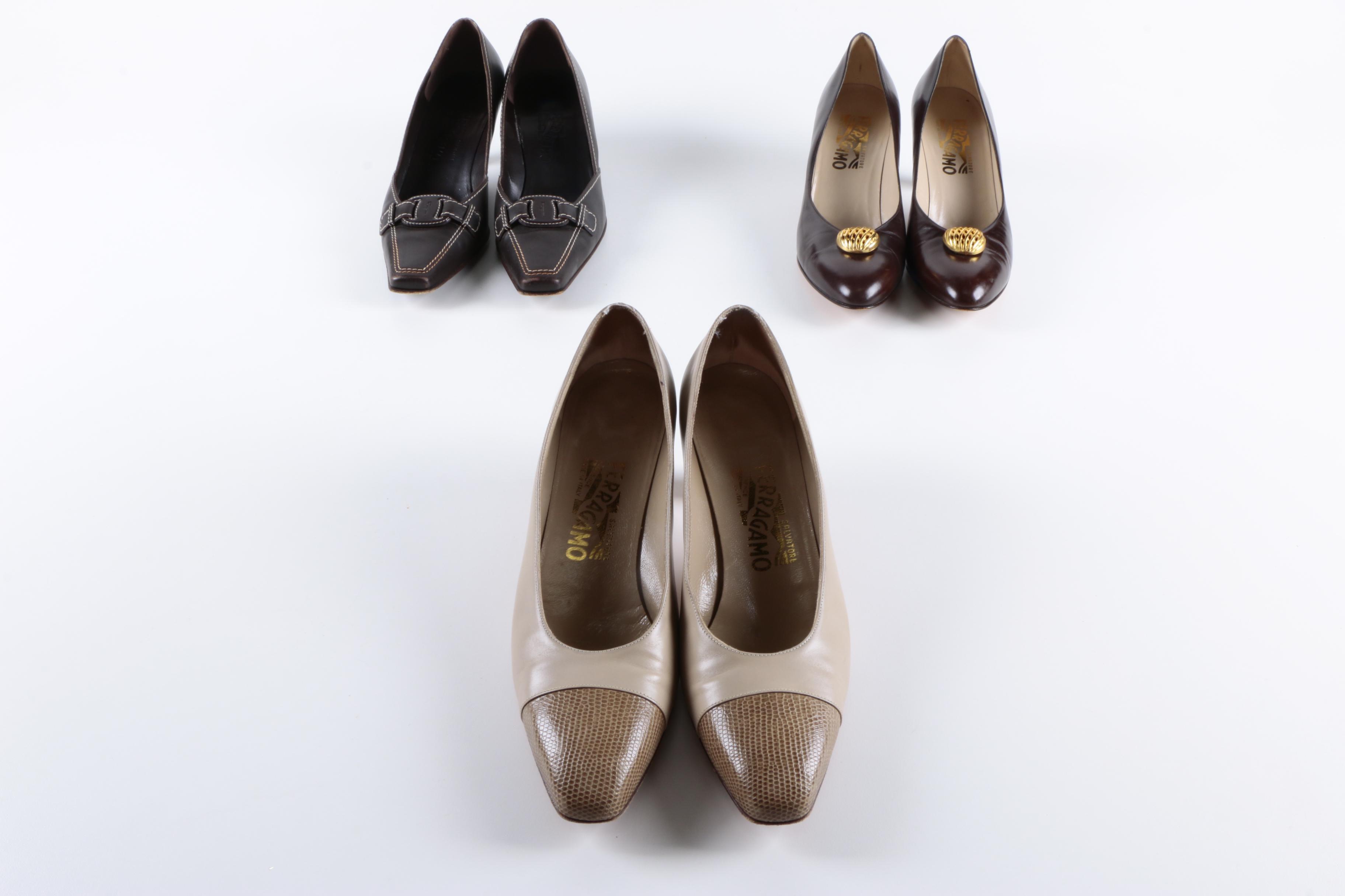 Vintage Salvatore Ferragamo High Heels