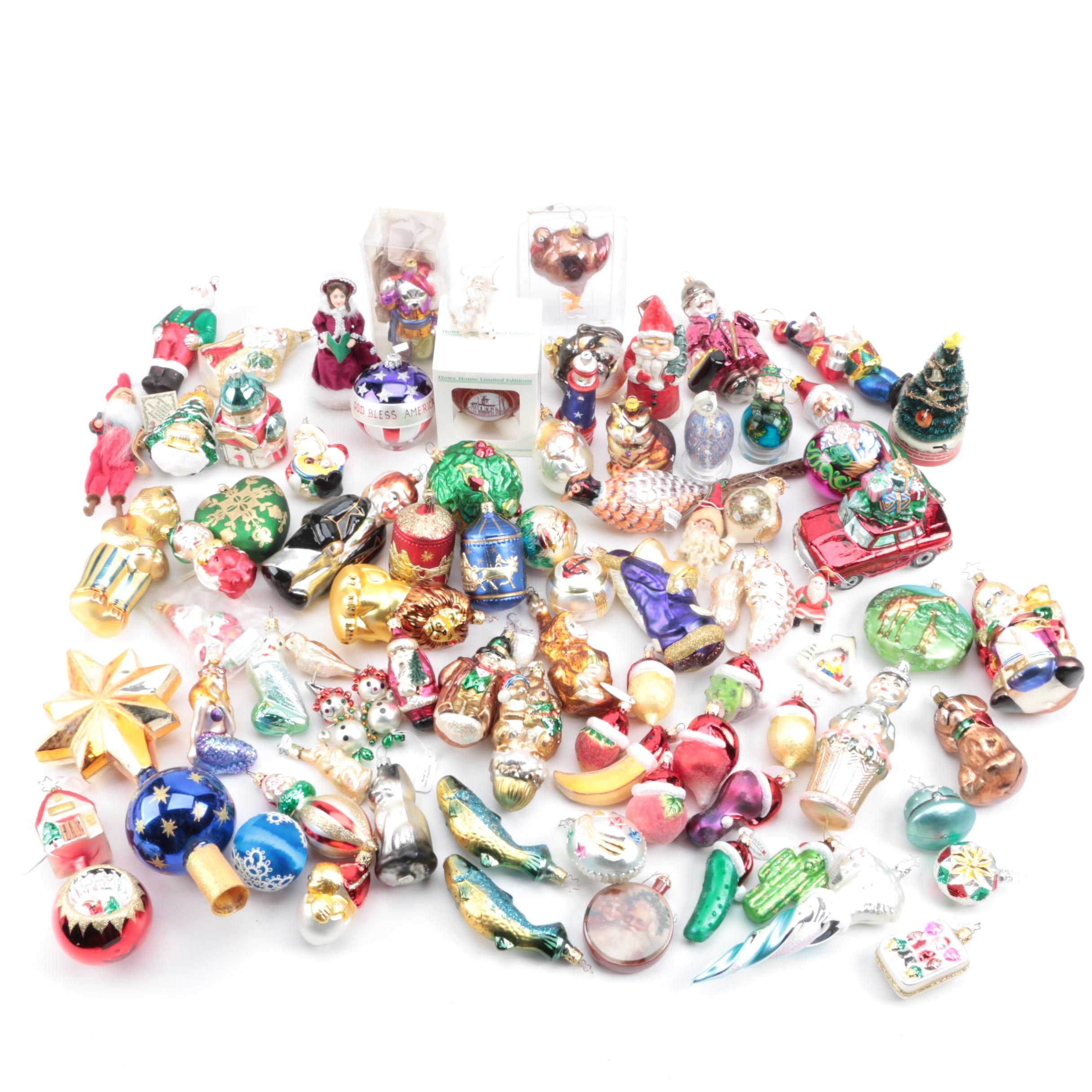 Large Selection of Christmas Ornaments