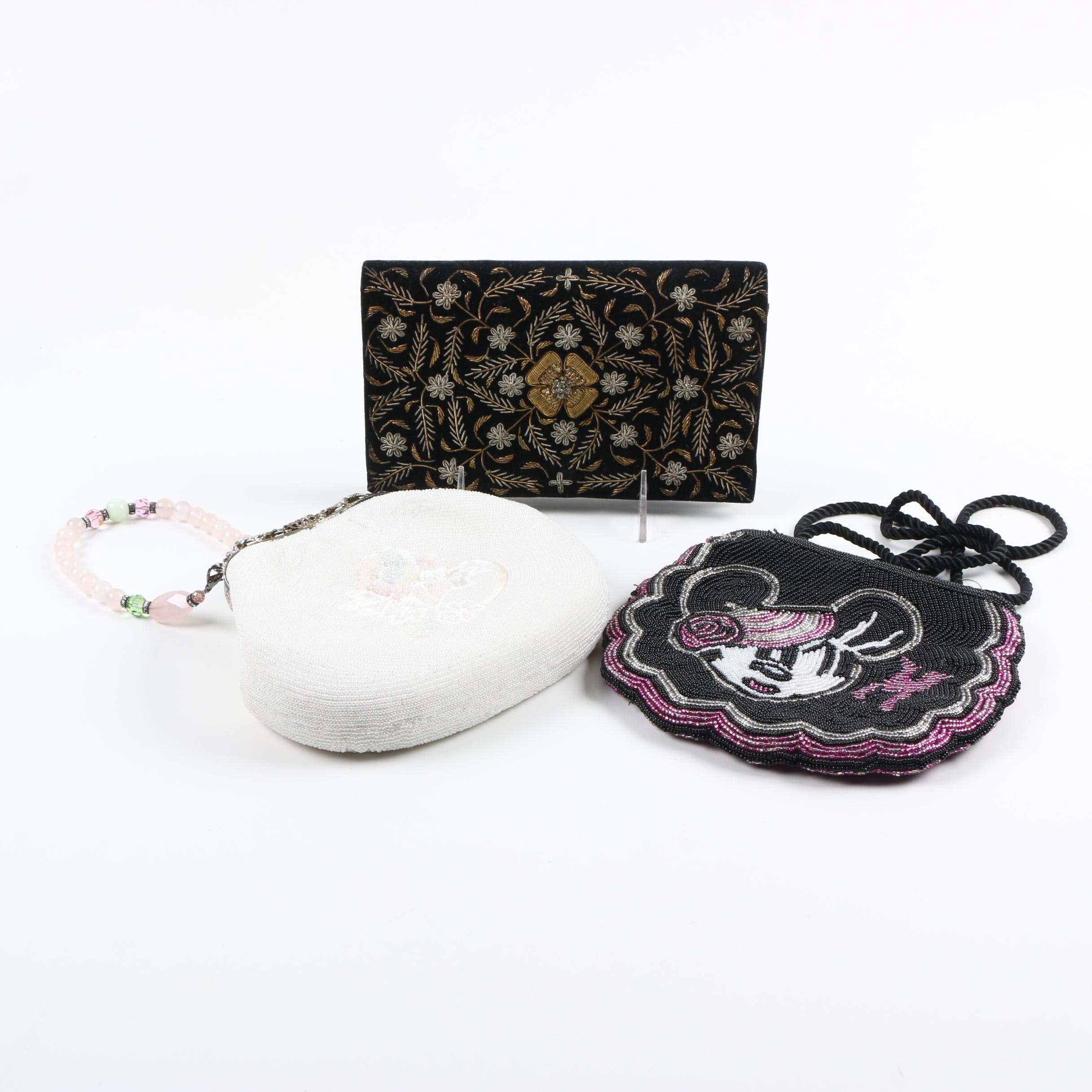 Embroidered and Beaded Evening Bags