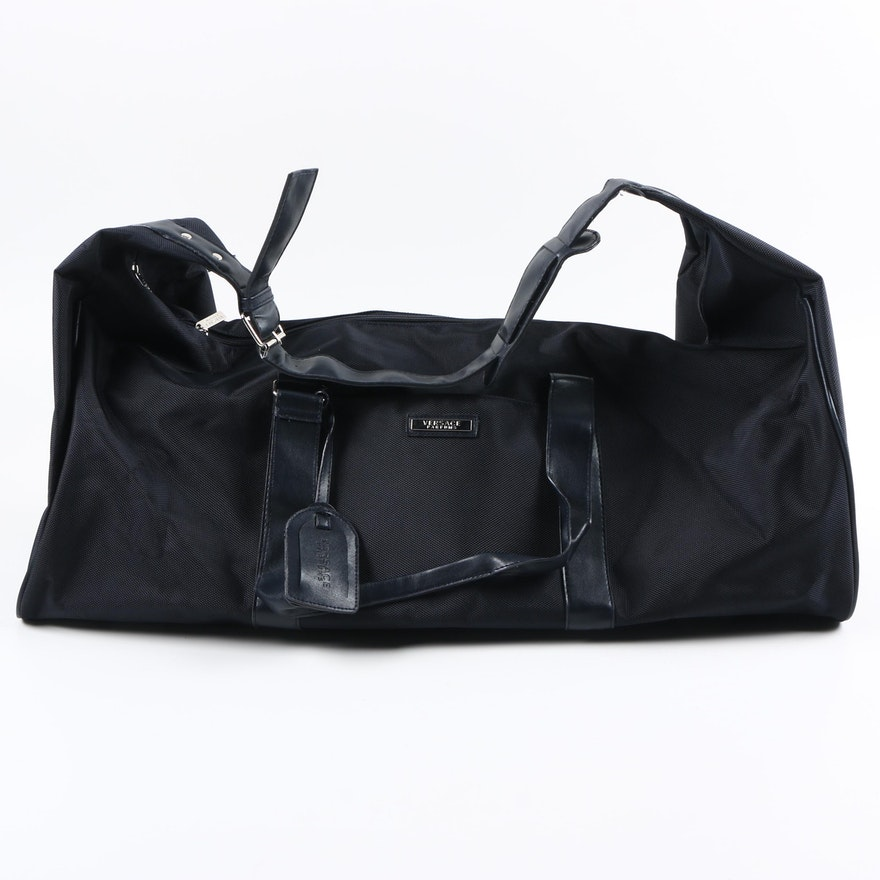 c30077b734 Versace Parfums Promotional Nylon Duffel Bag   EBTH
