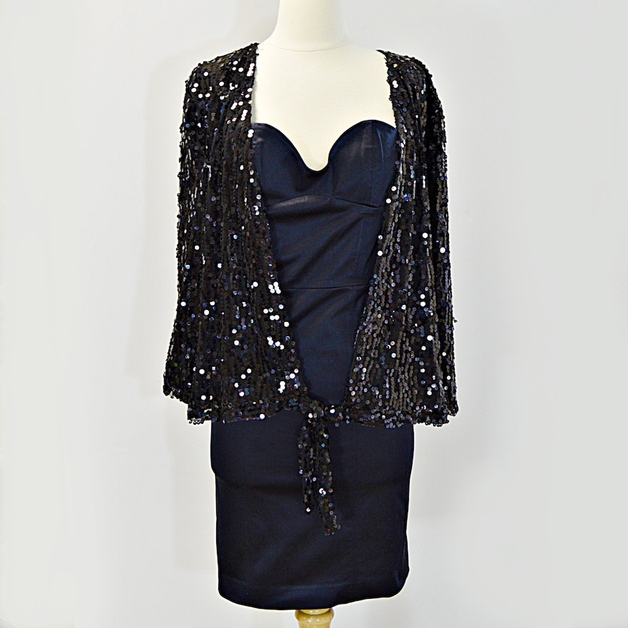 Chicos Black Sequined Jacket New With Tags And Chloereese