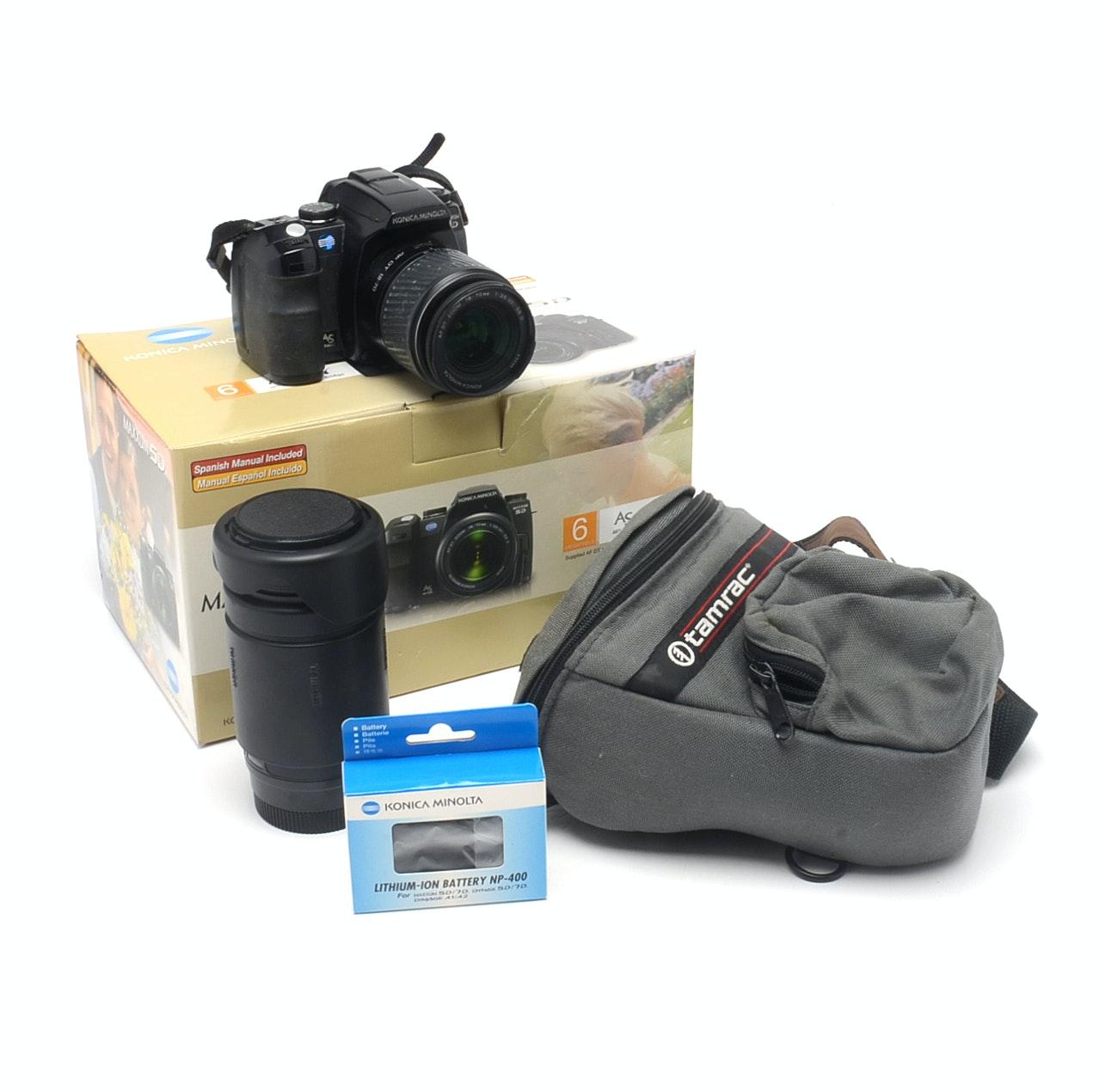 Konica Minolta Dynax Maxxum 5D Digital SLR Camera