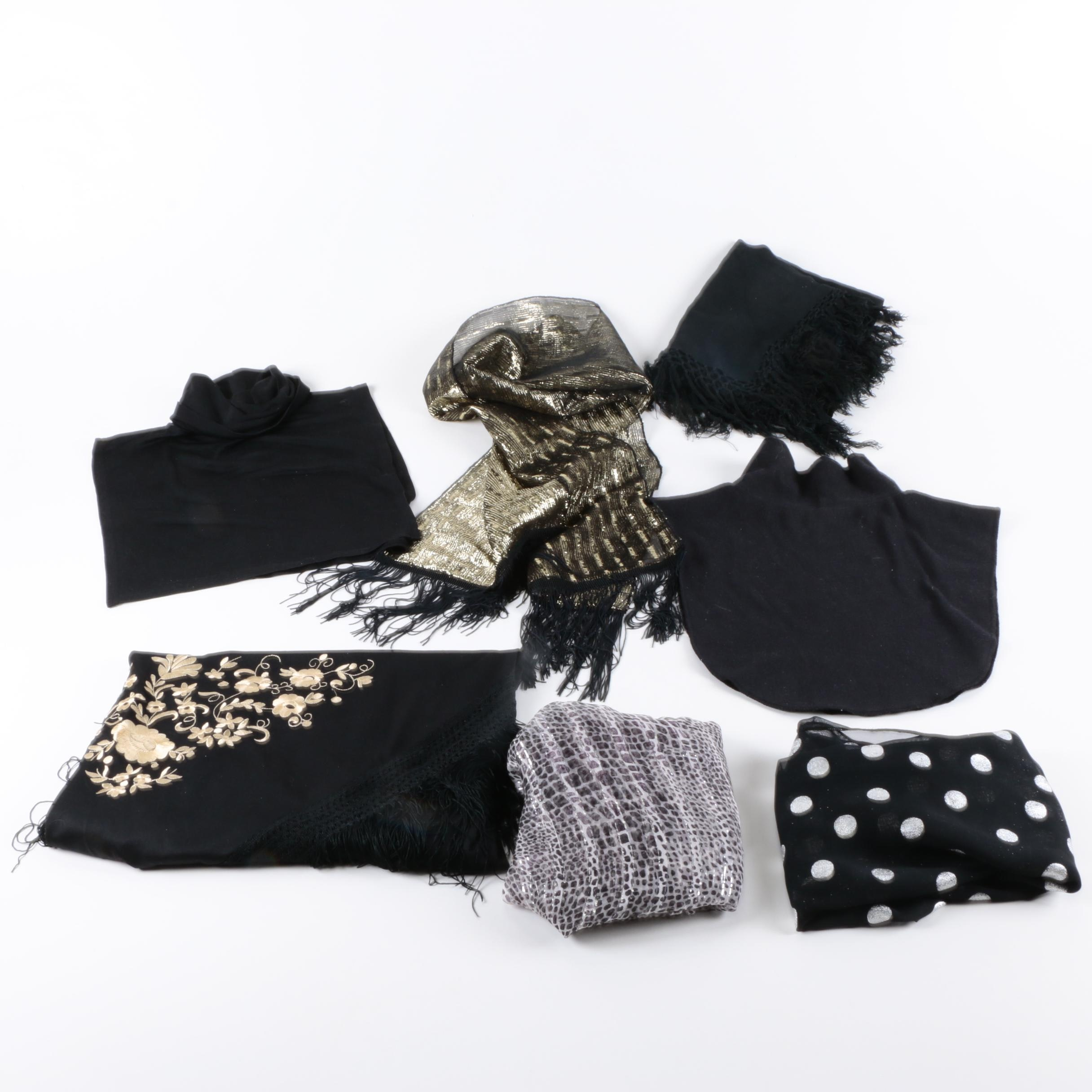 Women's Scarves, Shawls and Dickeys
