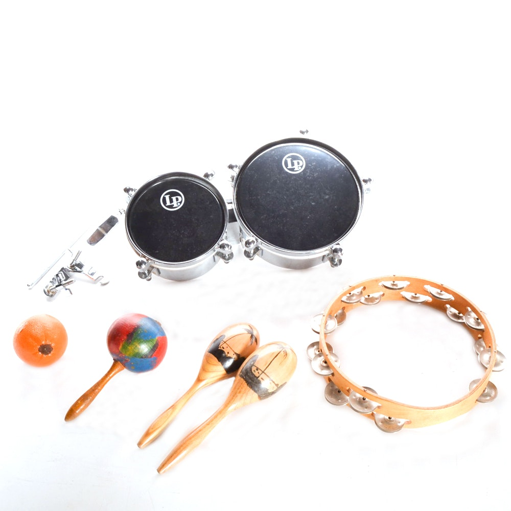 Collection of Percussion Instruments