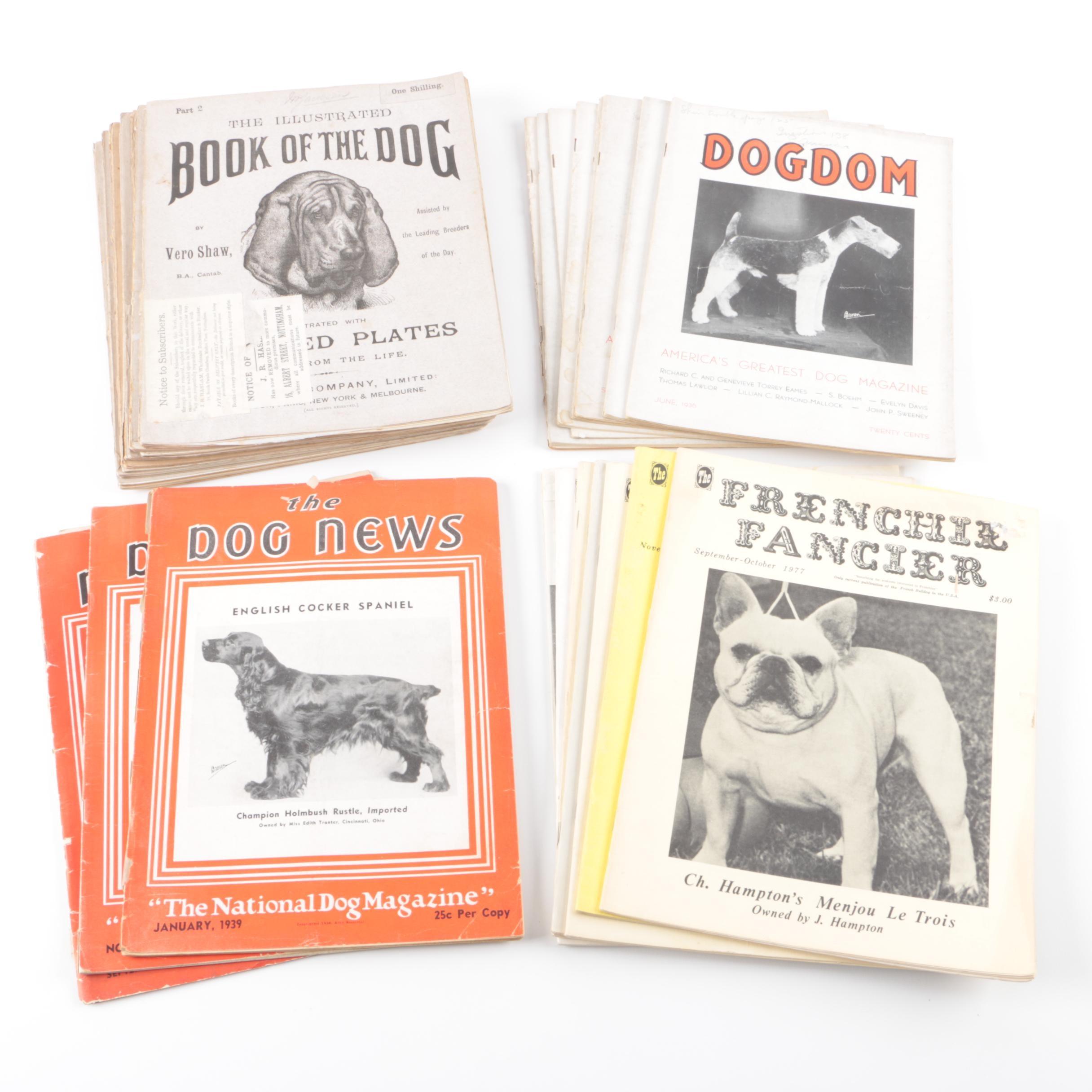 1930s-1970s Dog Magazines