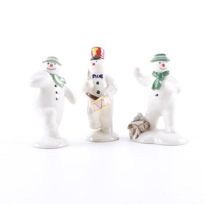 Royal Doulton Snowman Figurines