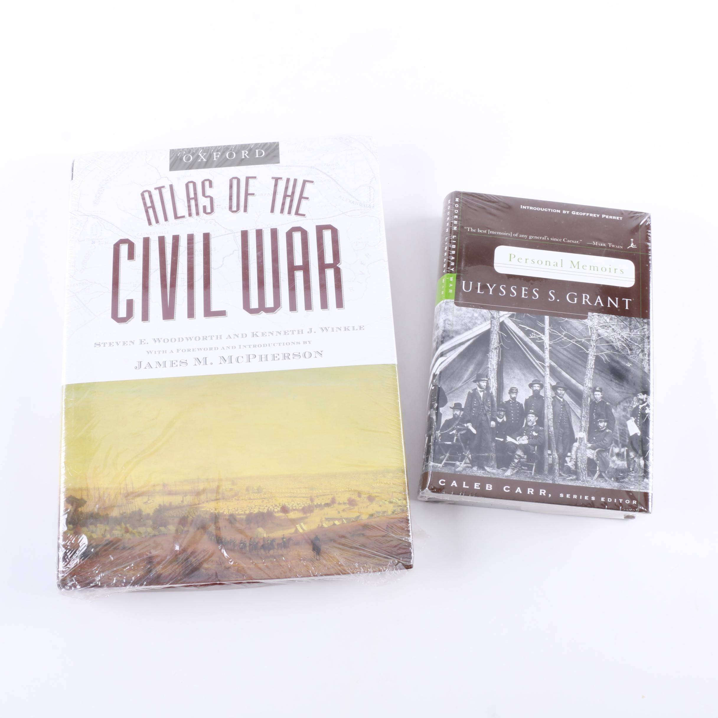 """Oxford Atlas of the Civil War"" and ""Personal Memoirs of Ulysses S. Grant"""