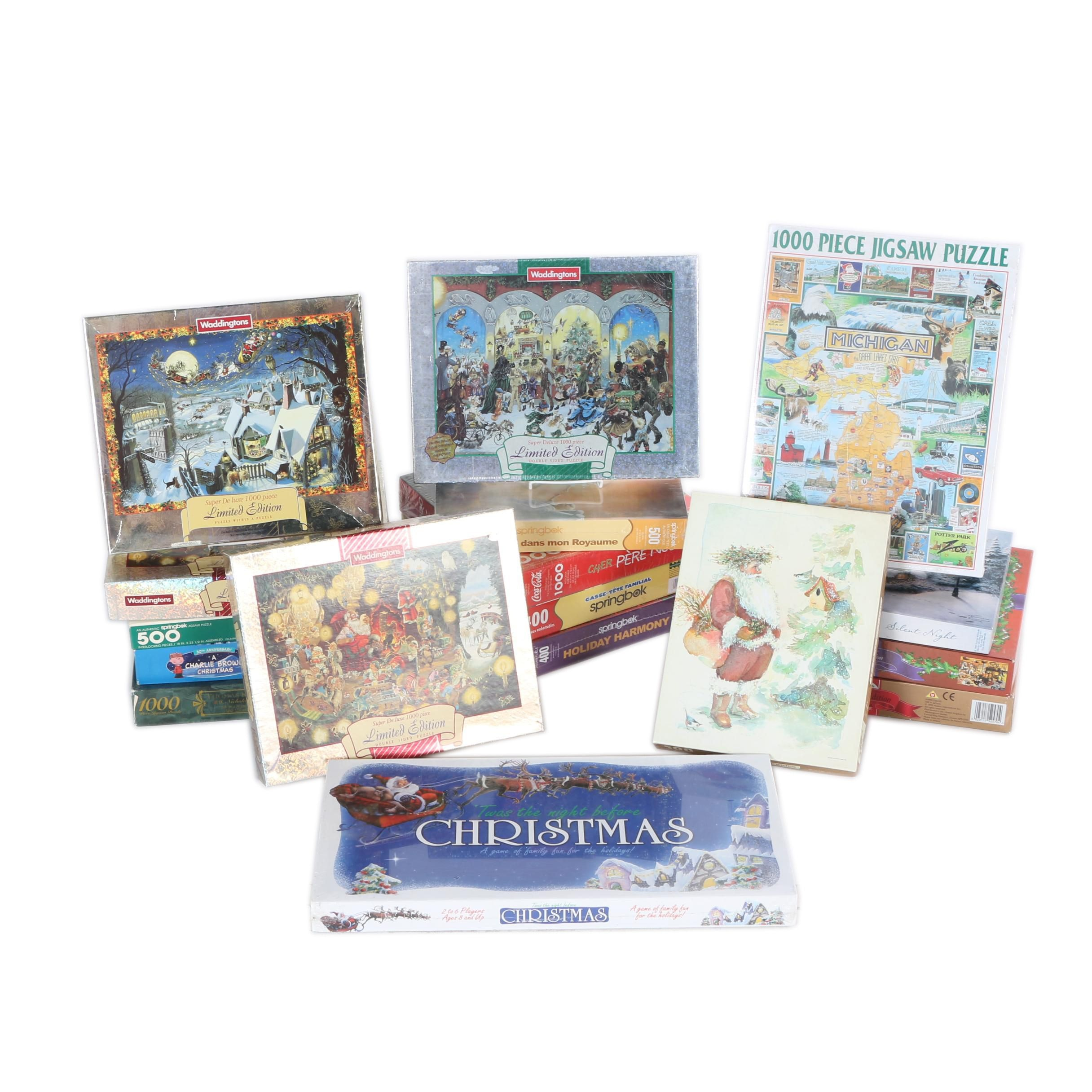 Collection of Holiday-Themed Puzzles