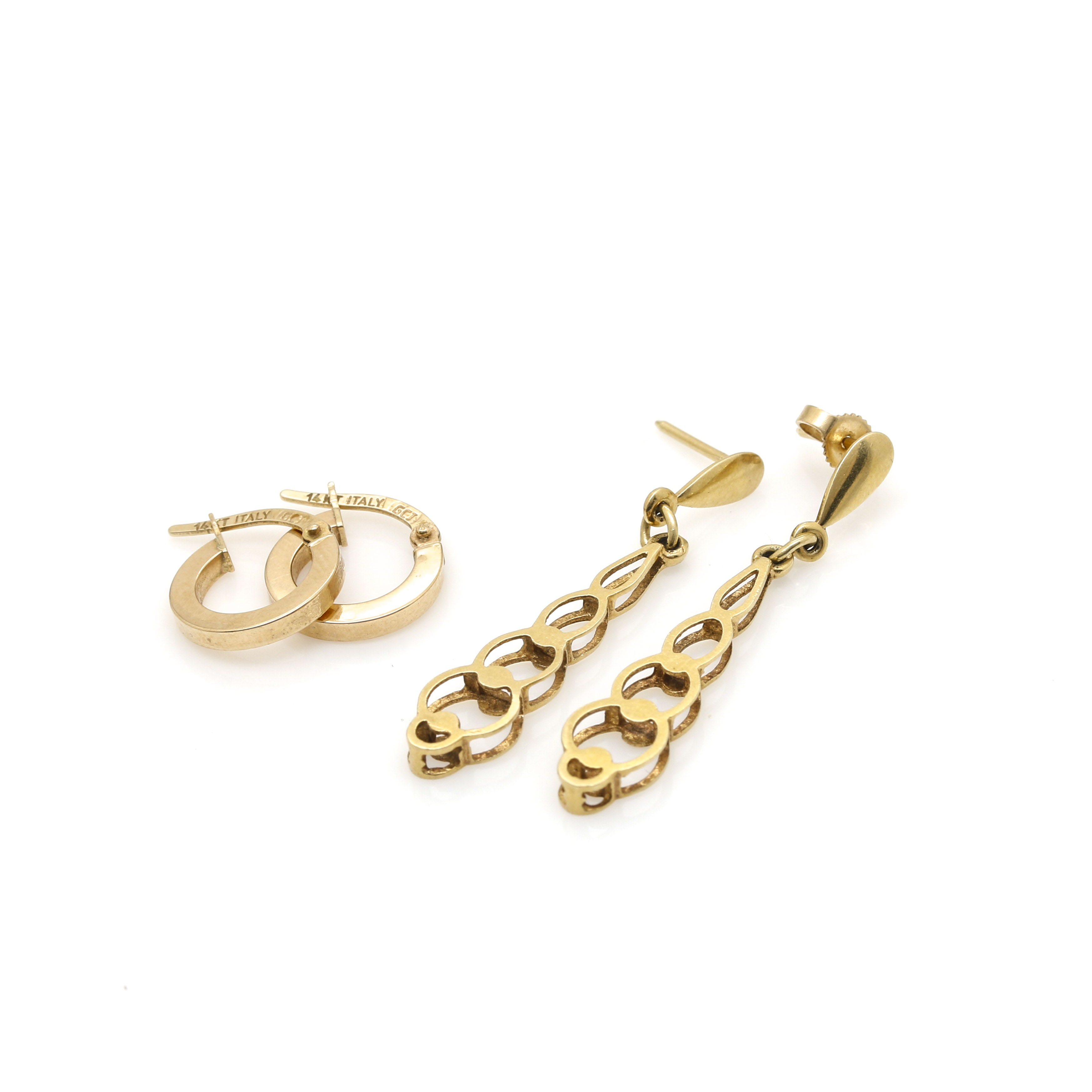 14K Yellow Gold Earring Selection