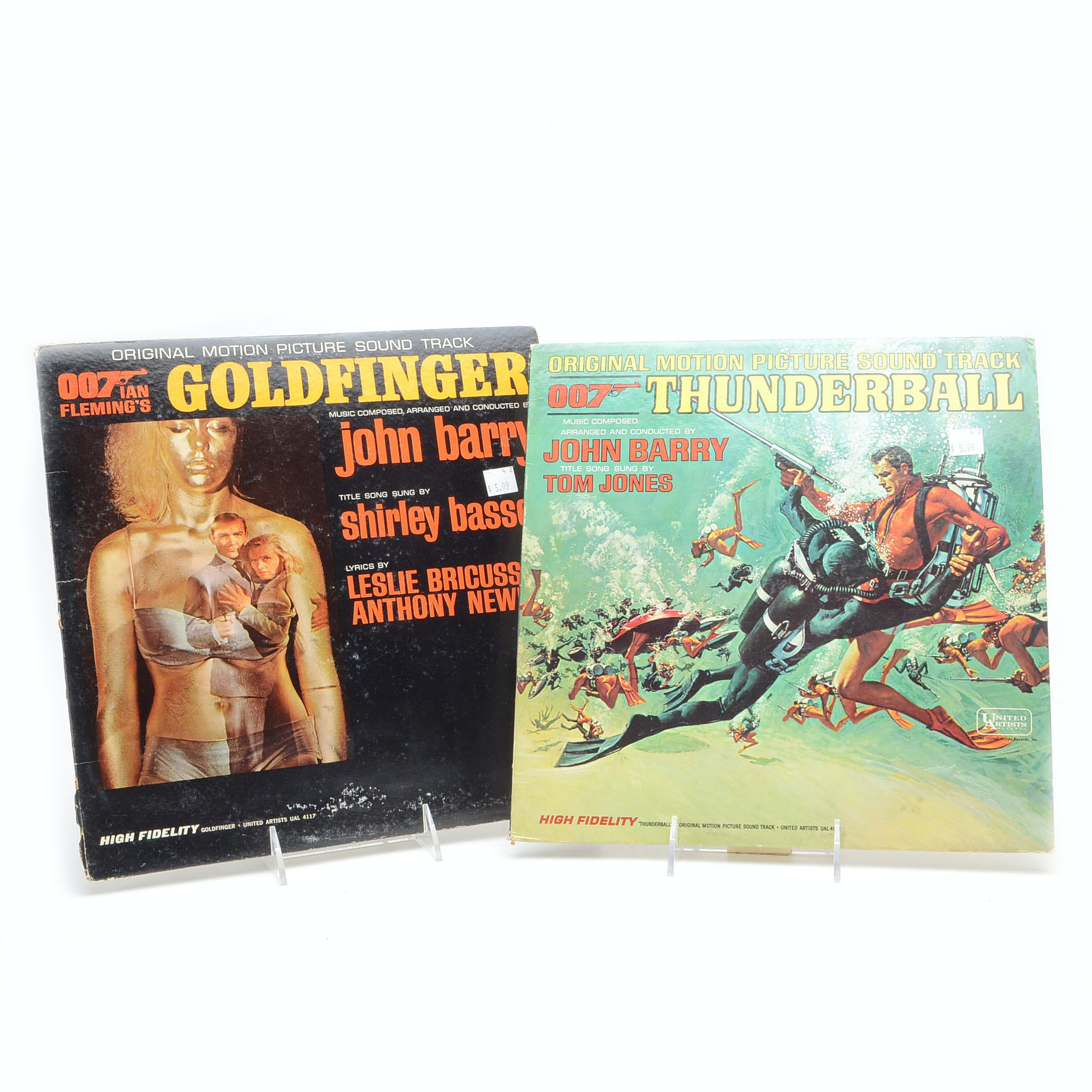 Pairing of James Bond Soundtrack Albums