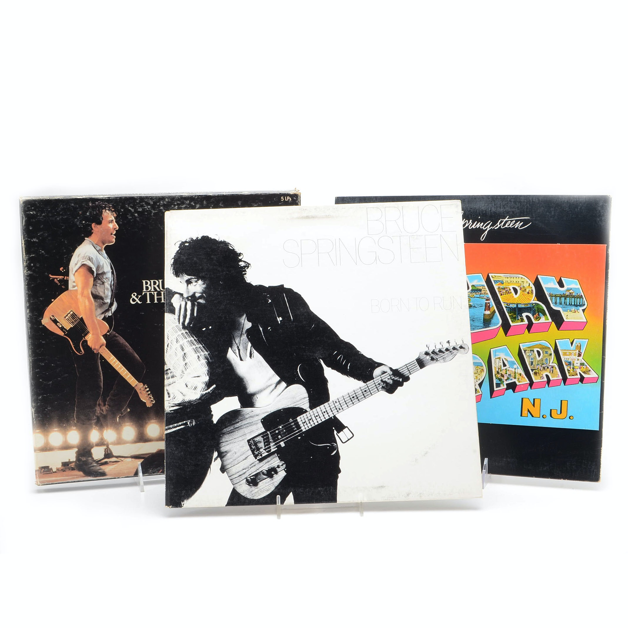Collection of Bruce Springsteen Albums